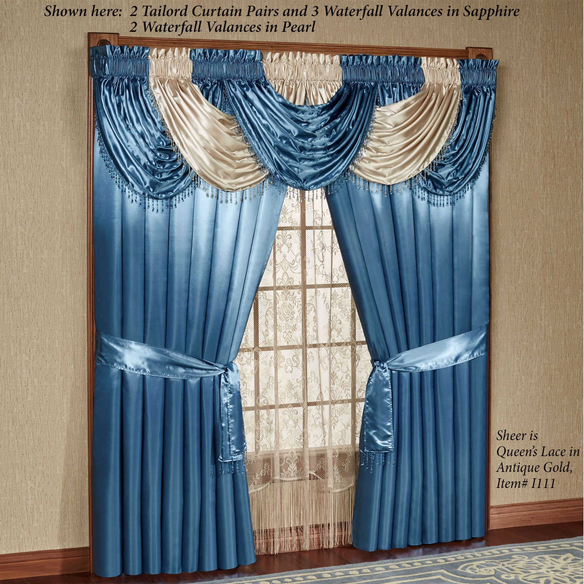 a making tutorial how pin for hang to home rod simple waterfall the pocket valance