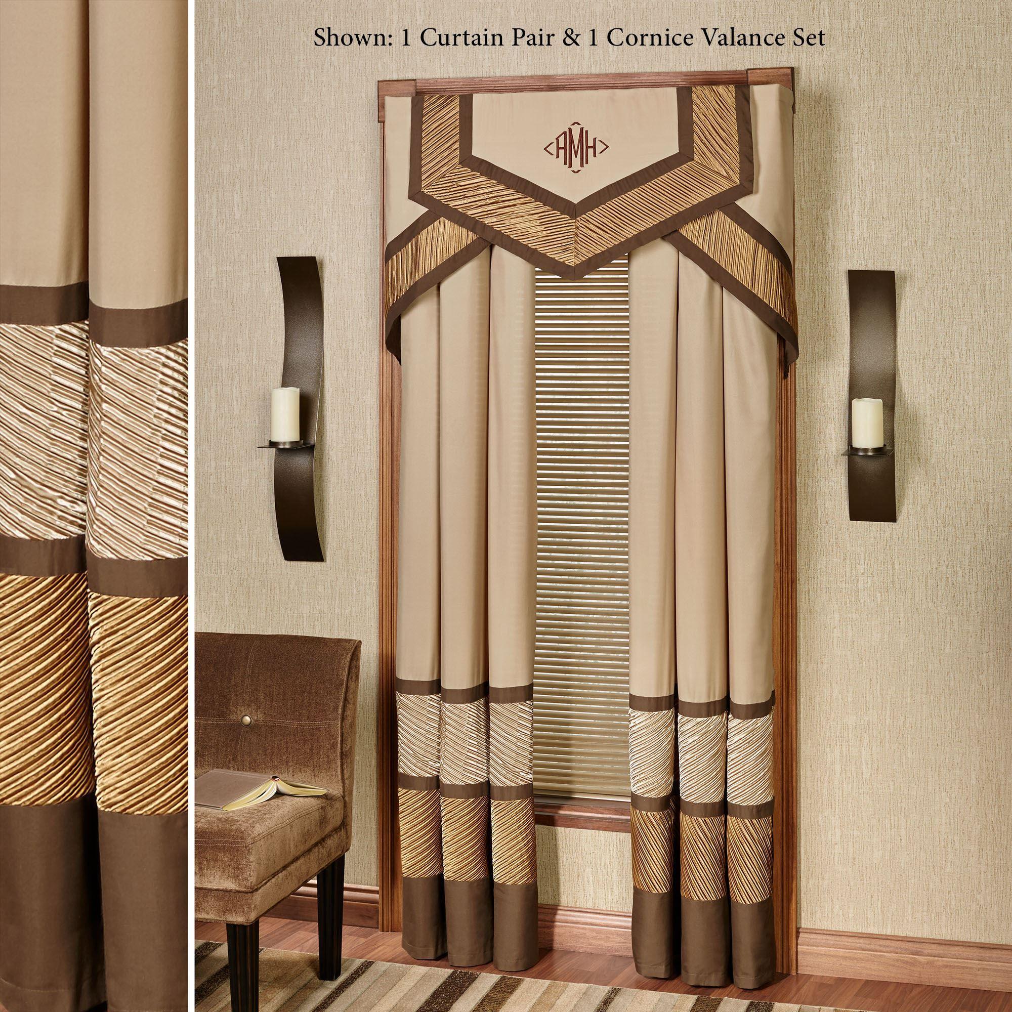 delta modern cornice window treatment. Black Bedroom Furniture Sets. Home Design Ideas
