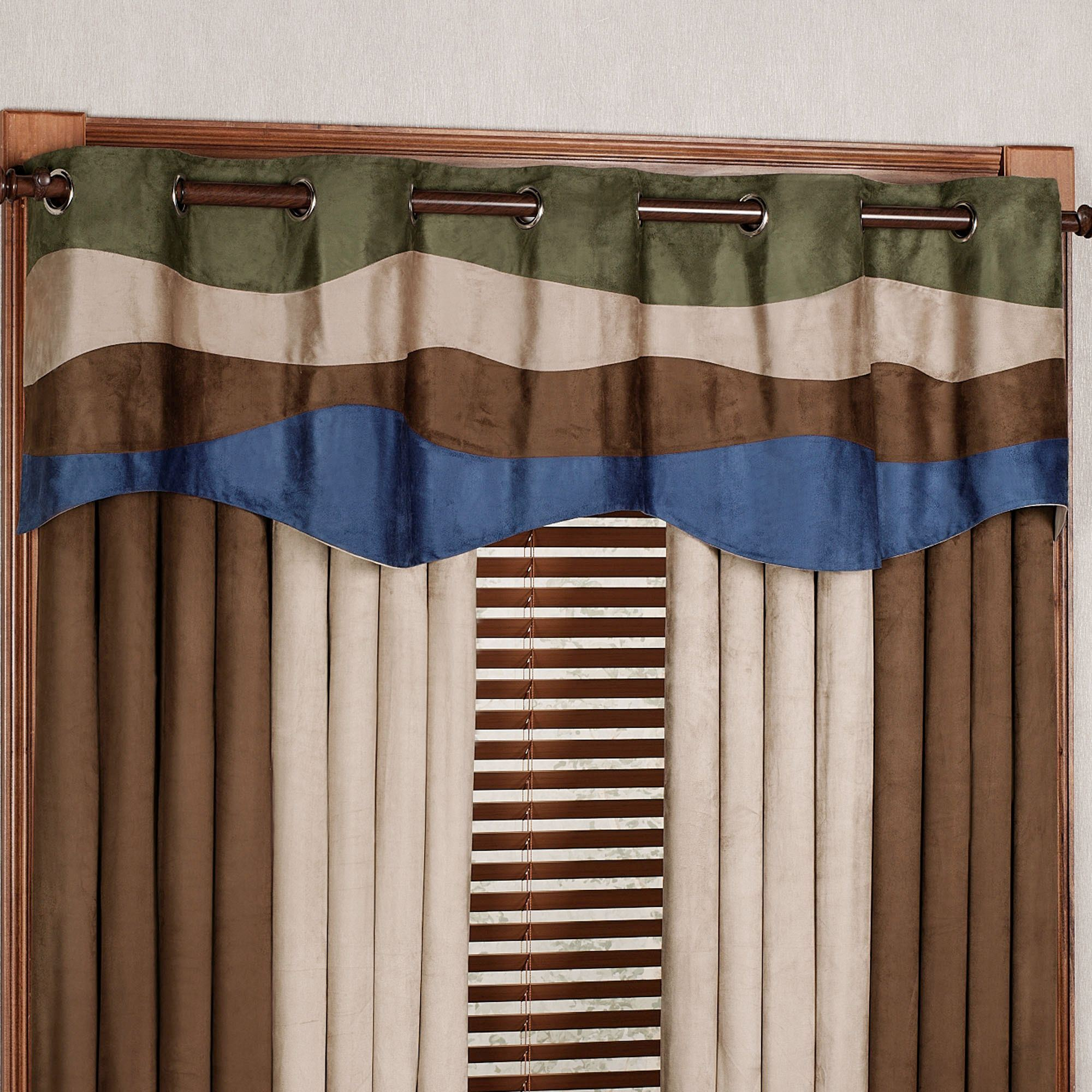 your window valance ideas organize kitchen own and to tier treatment bamboo grommet curtains