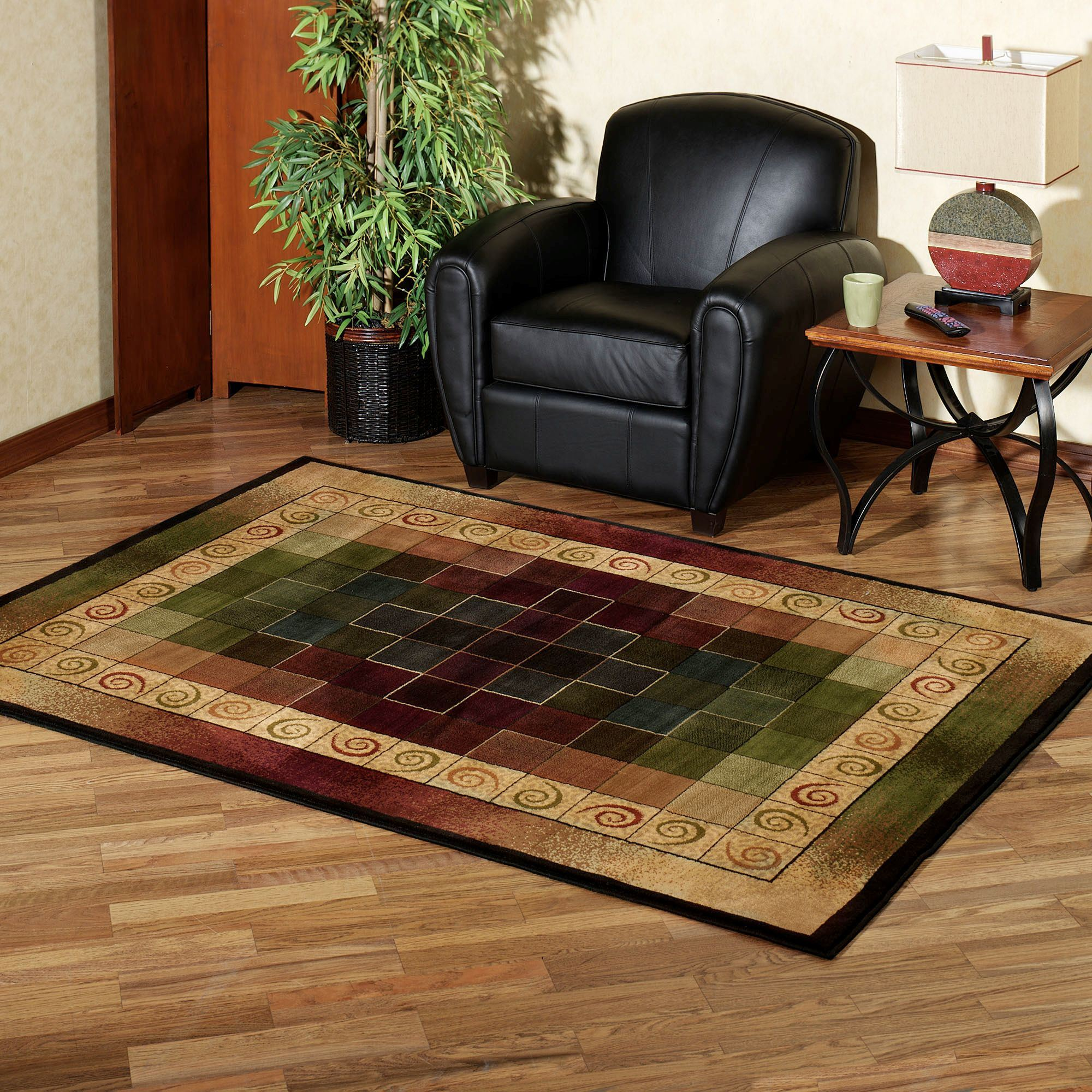 Montage Rectangle Rug