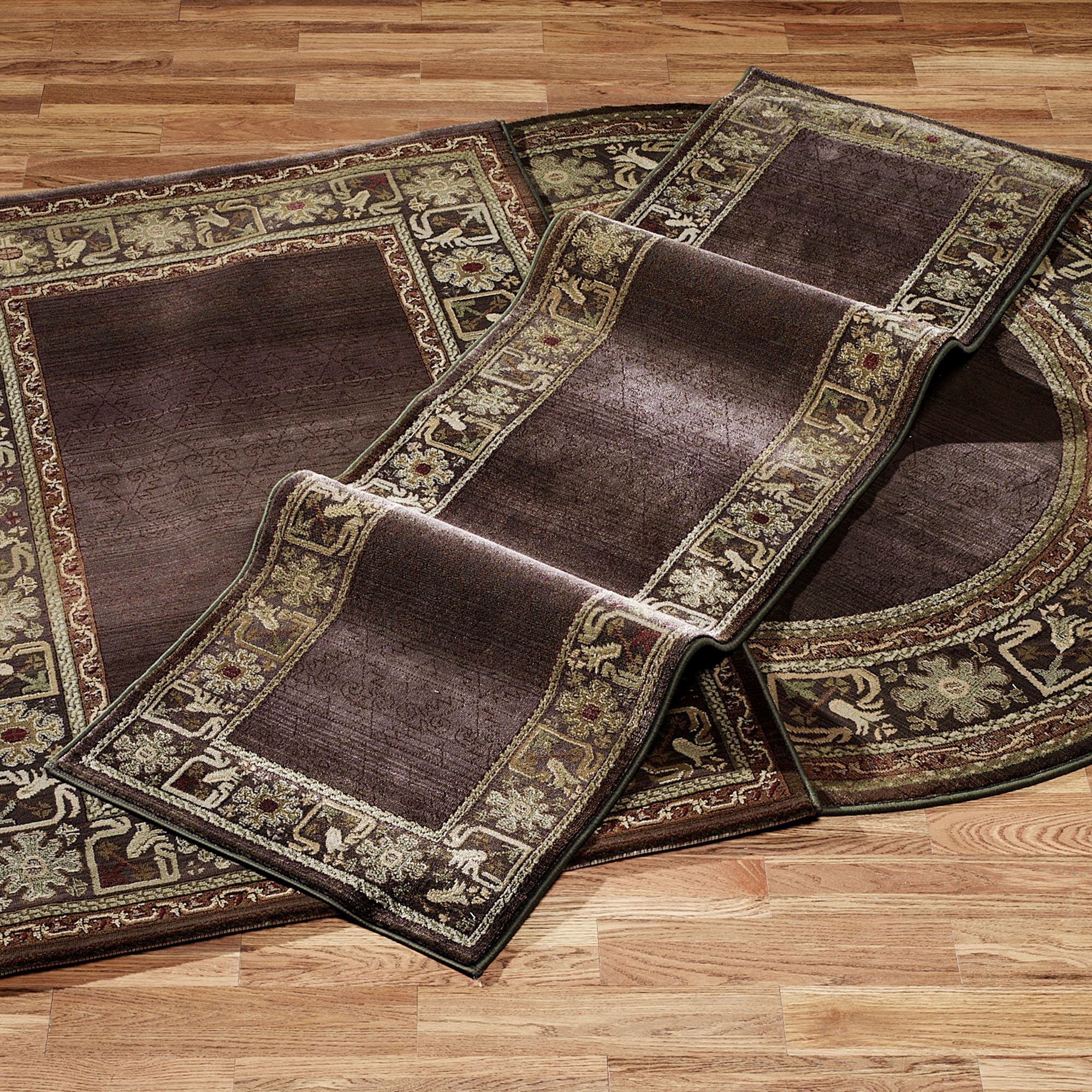 Generations Border Area Rugs