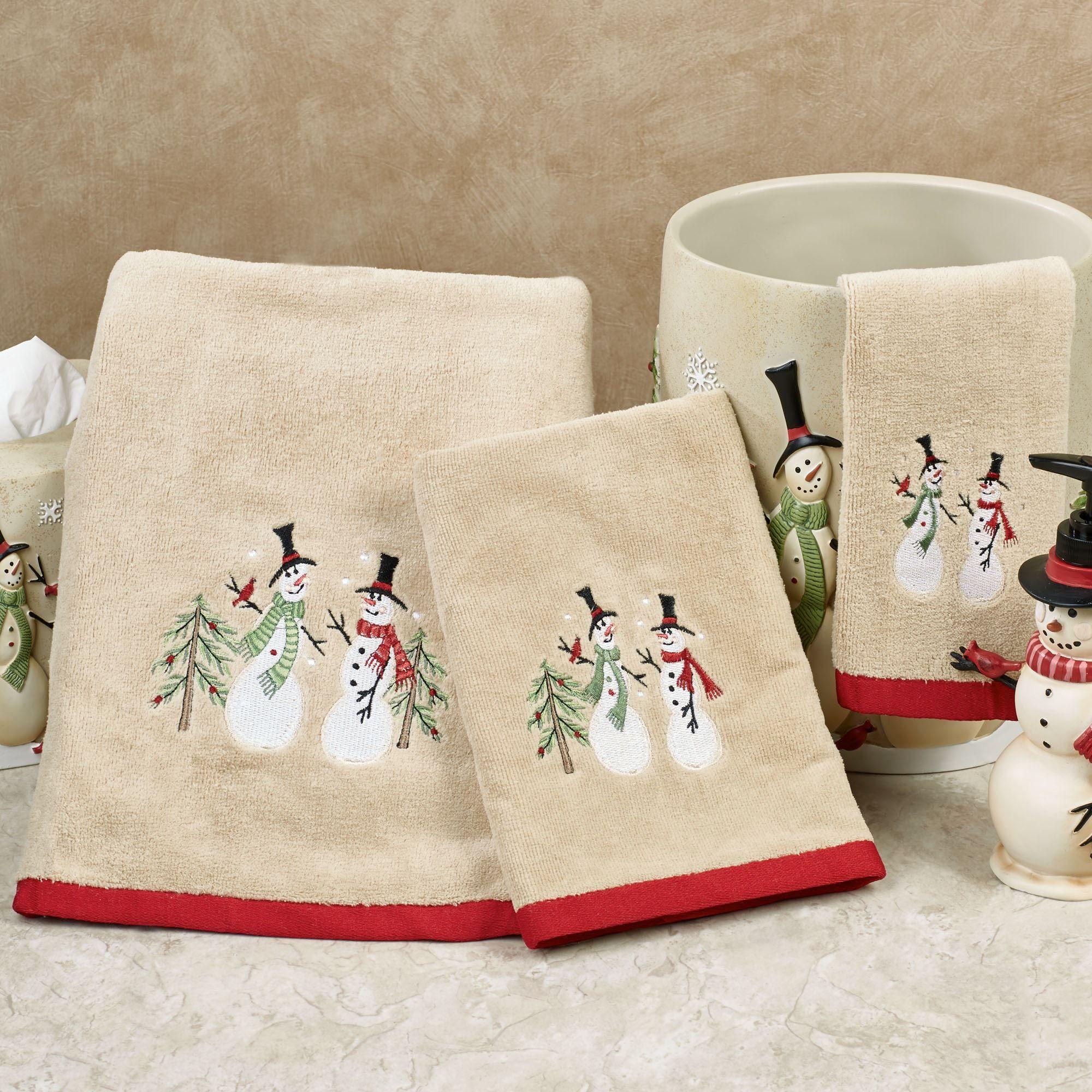 snowman bathroom sets. Tall Snowman Bath Towel Set Tan Hand Fingertip  Click to expand Holiday