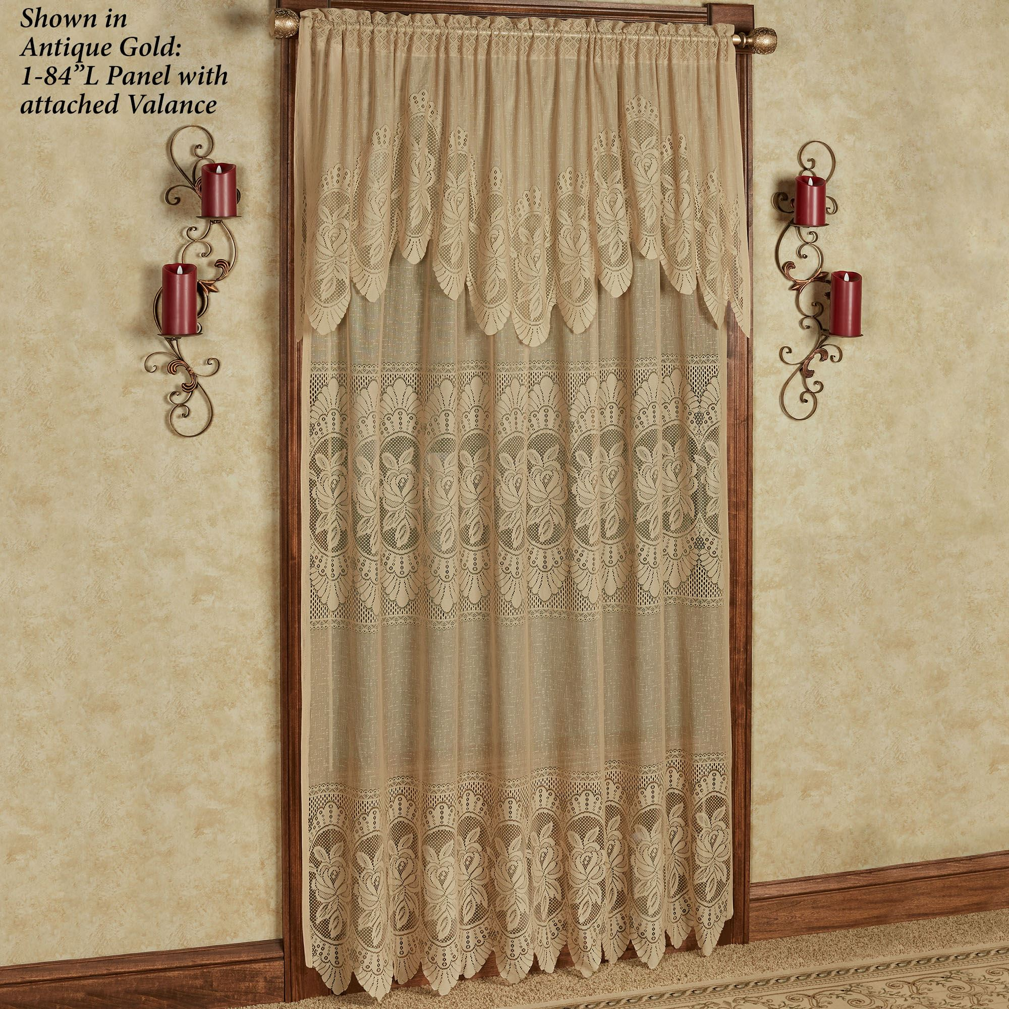 Easy Style Adelina Lace Curtain Panel