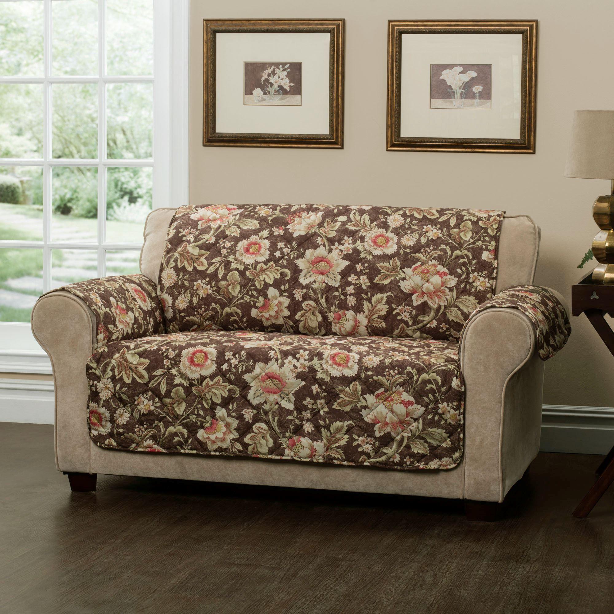 Aviston Furniture Protector Chestnut Loveseat