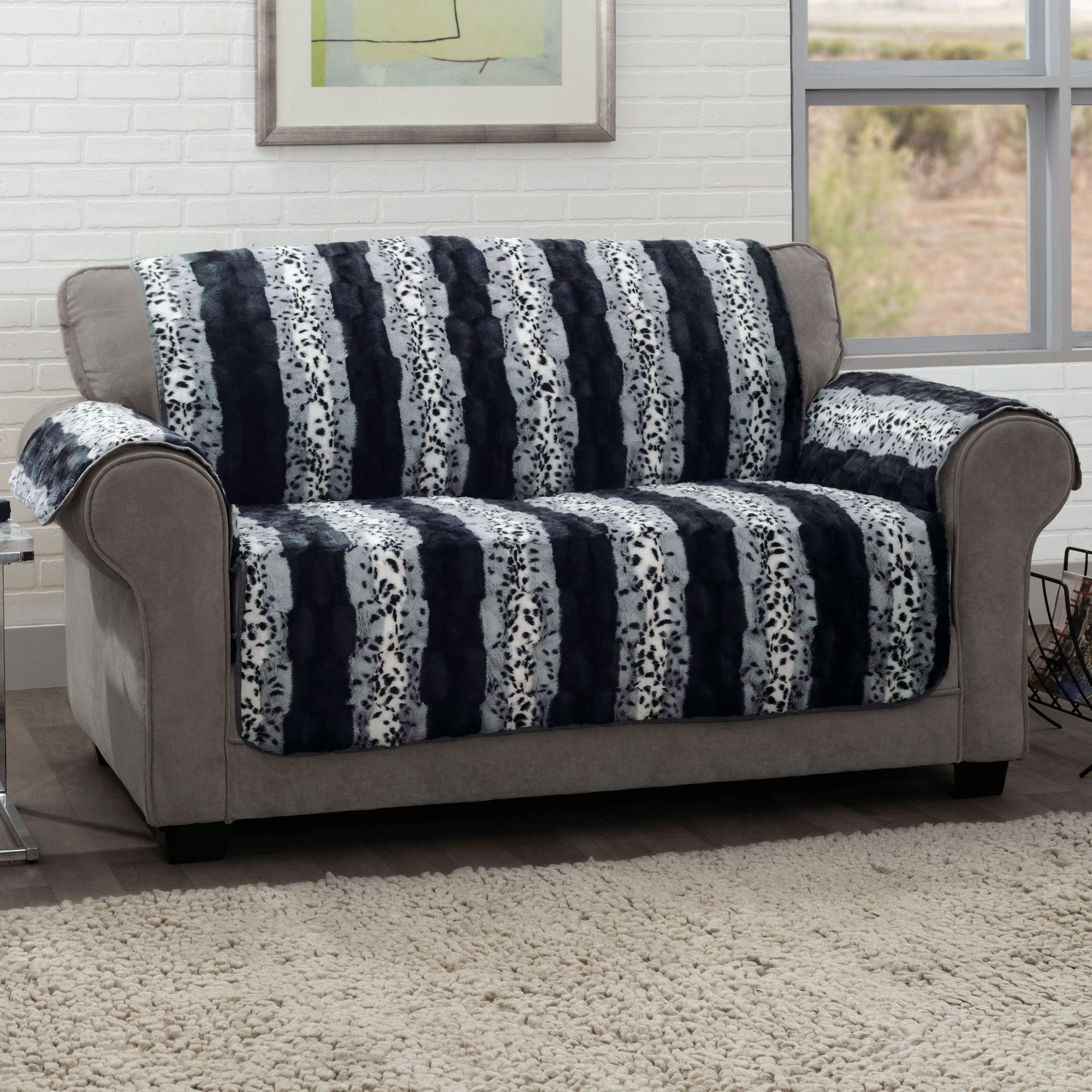 Prowl Furniture Protector Black Loveseat