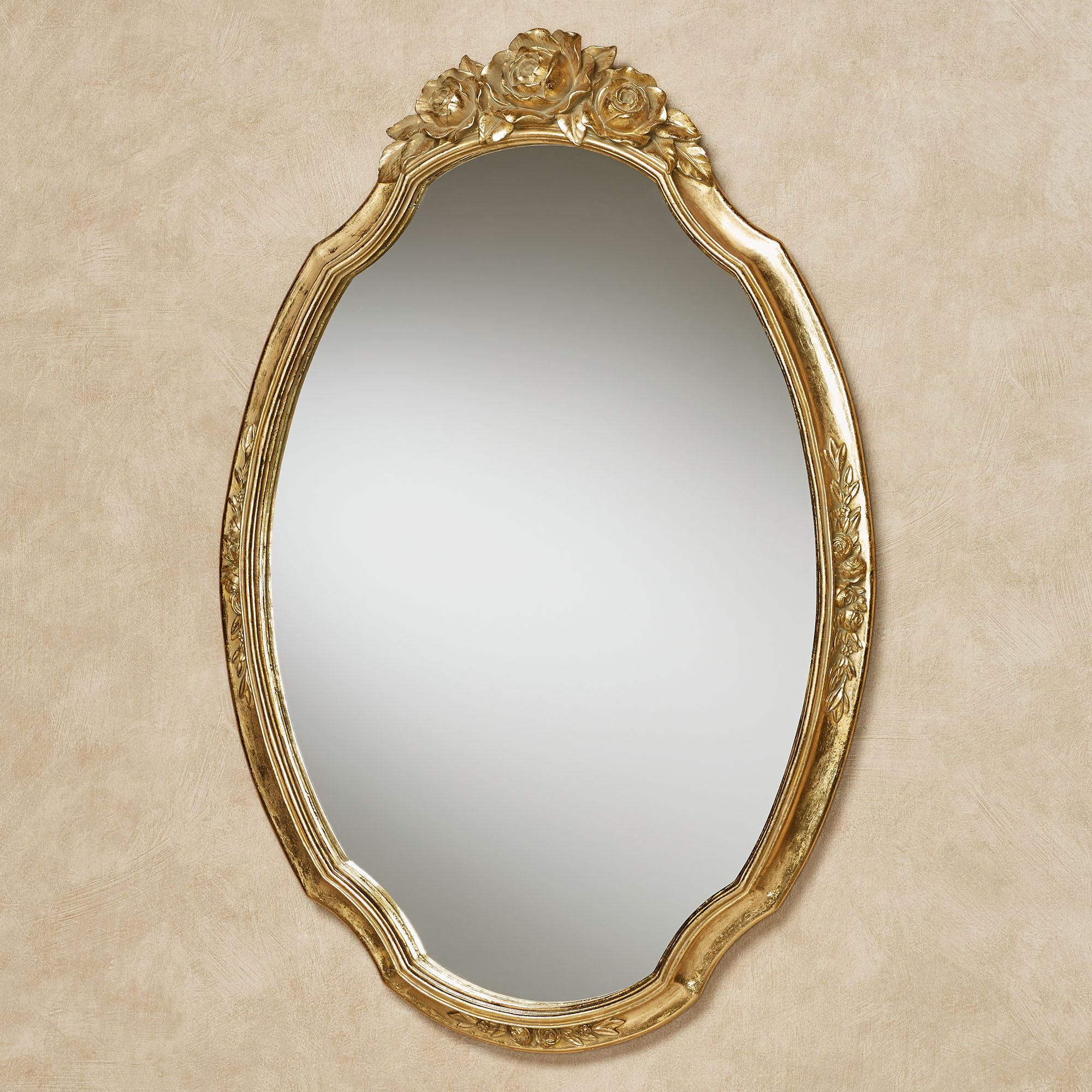 Jorah Rose Oval Wall Mirror