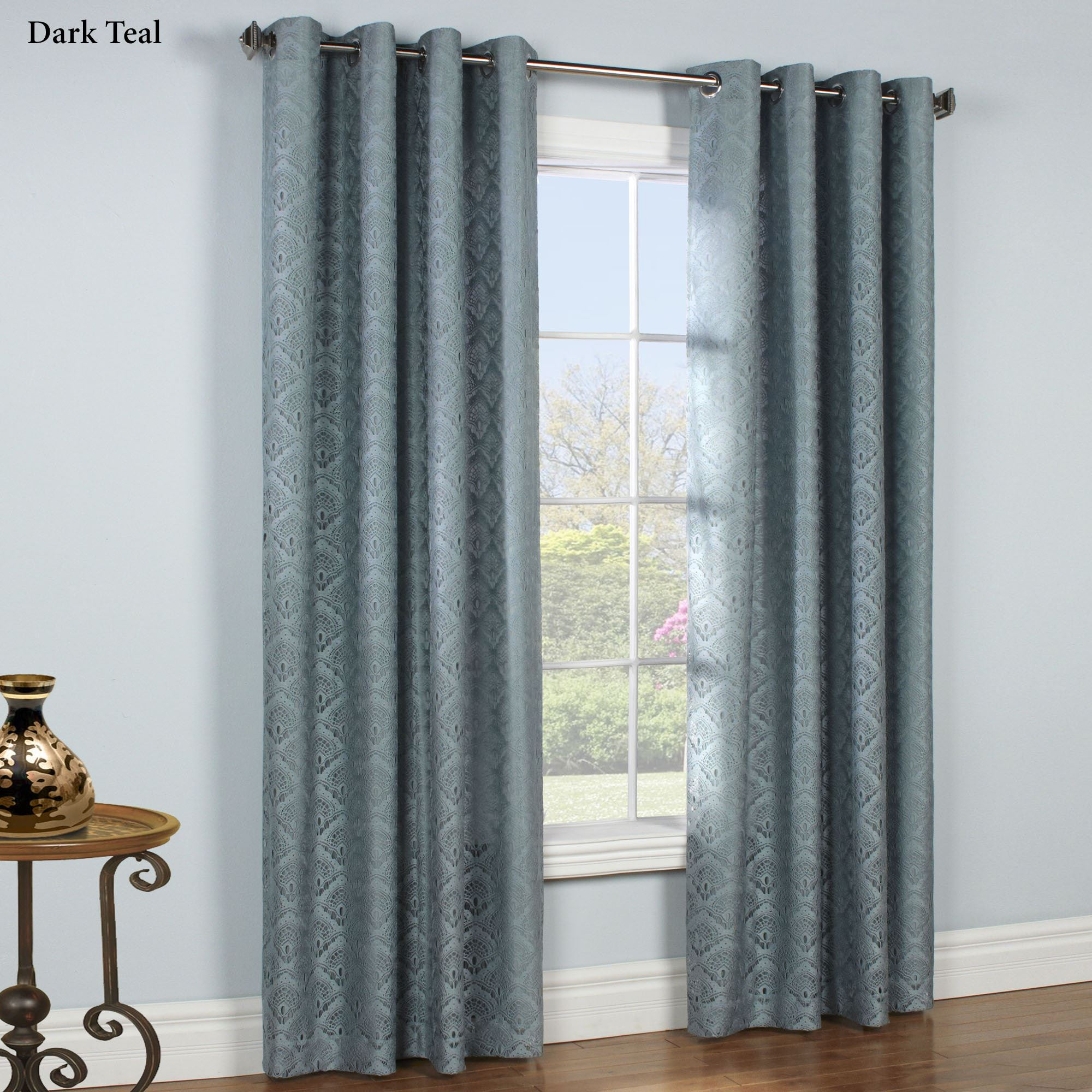 Anna ThermaLace(TM) Insulated Grommet Curtains