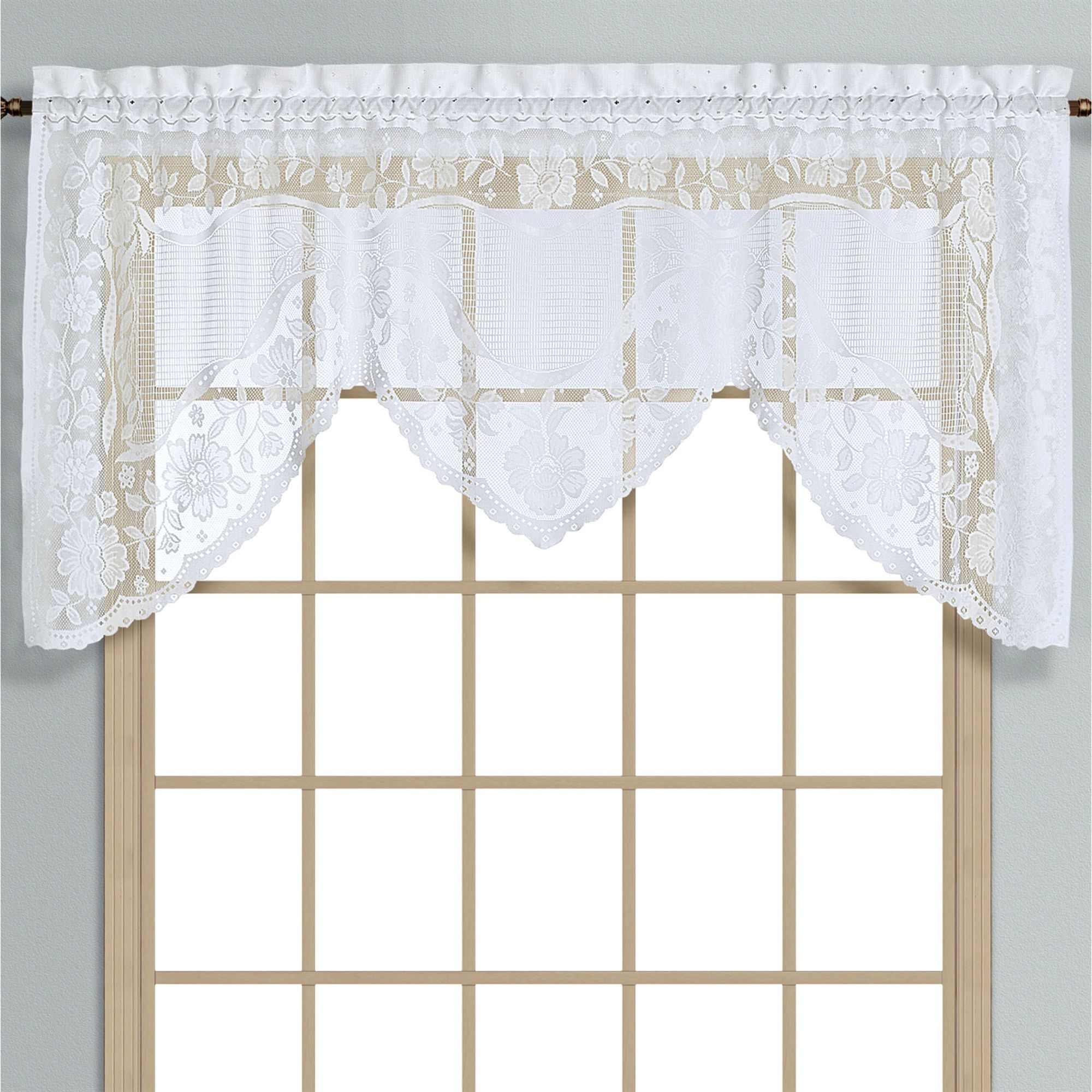 w for treatments kitchen from window curtains x scalloped bathroom short natural home valance valances nicetown top blackout item tab in