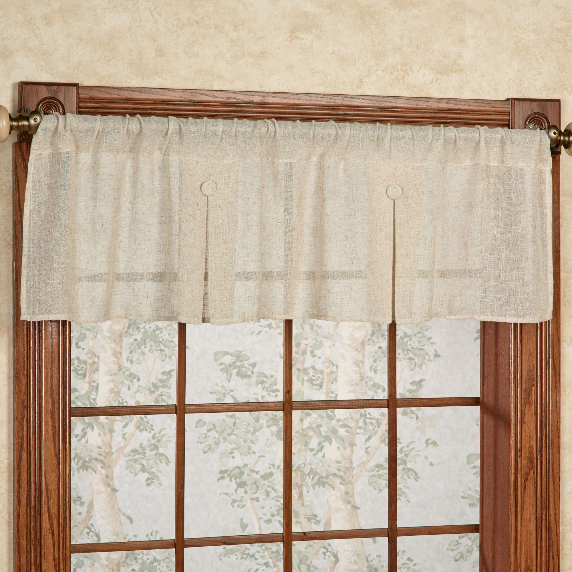 Shannon Box Pleated Valance 52 X 15