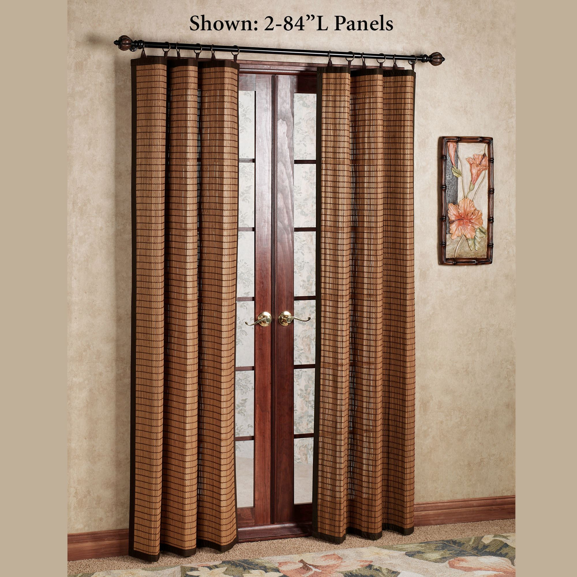 window without single roman bracket for doors to shades treatments of full rods glass blinds alternative over door center panels sliding size curtains hanging vertical amazon panel patio curtain
