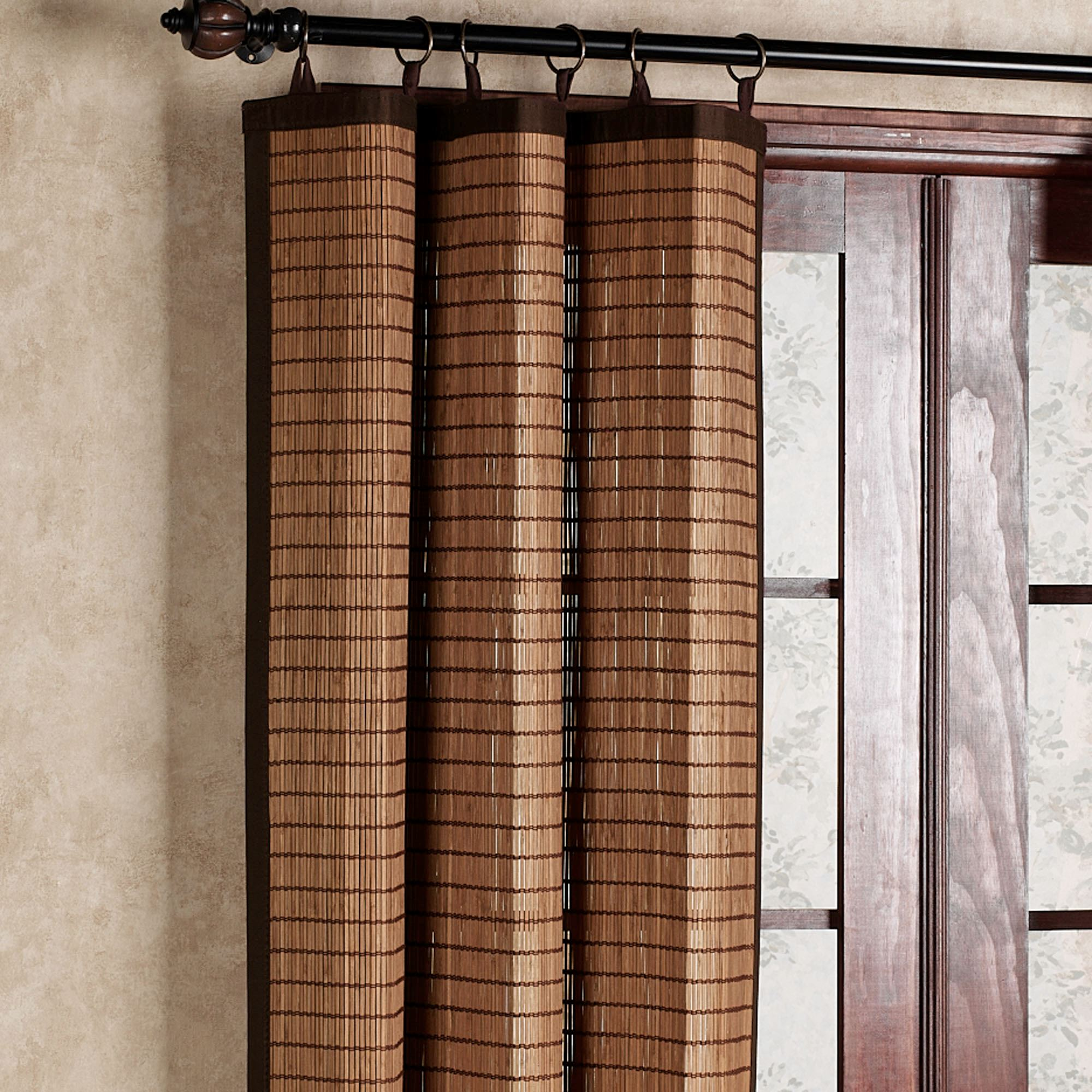 Bamboo Ring Top Curtain Panel