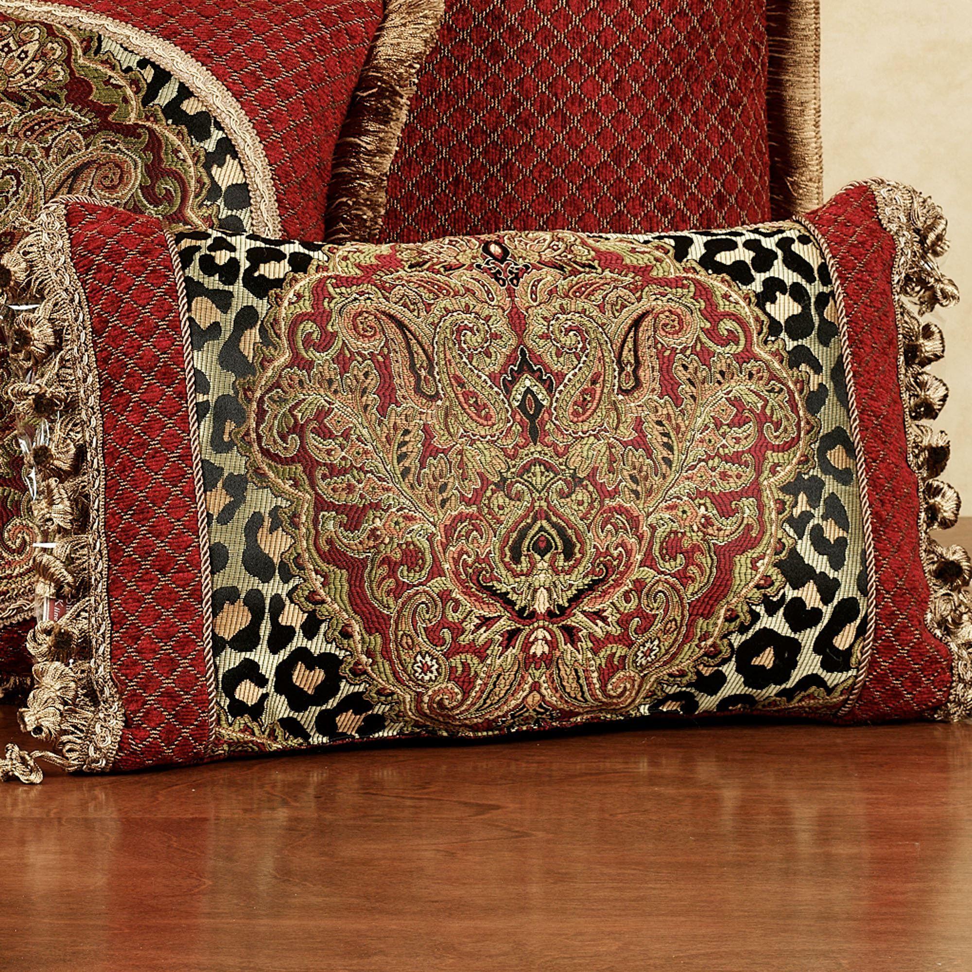 Temara Damask Leopard Print Comforter Bedding : leopard print quilts - Adamdwight.com