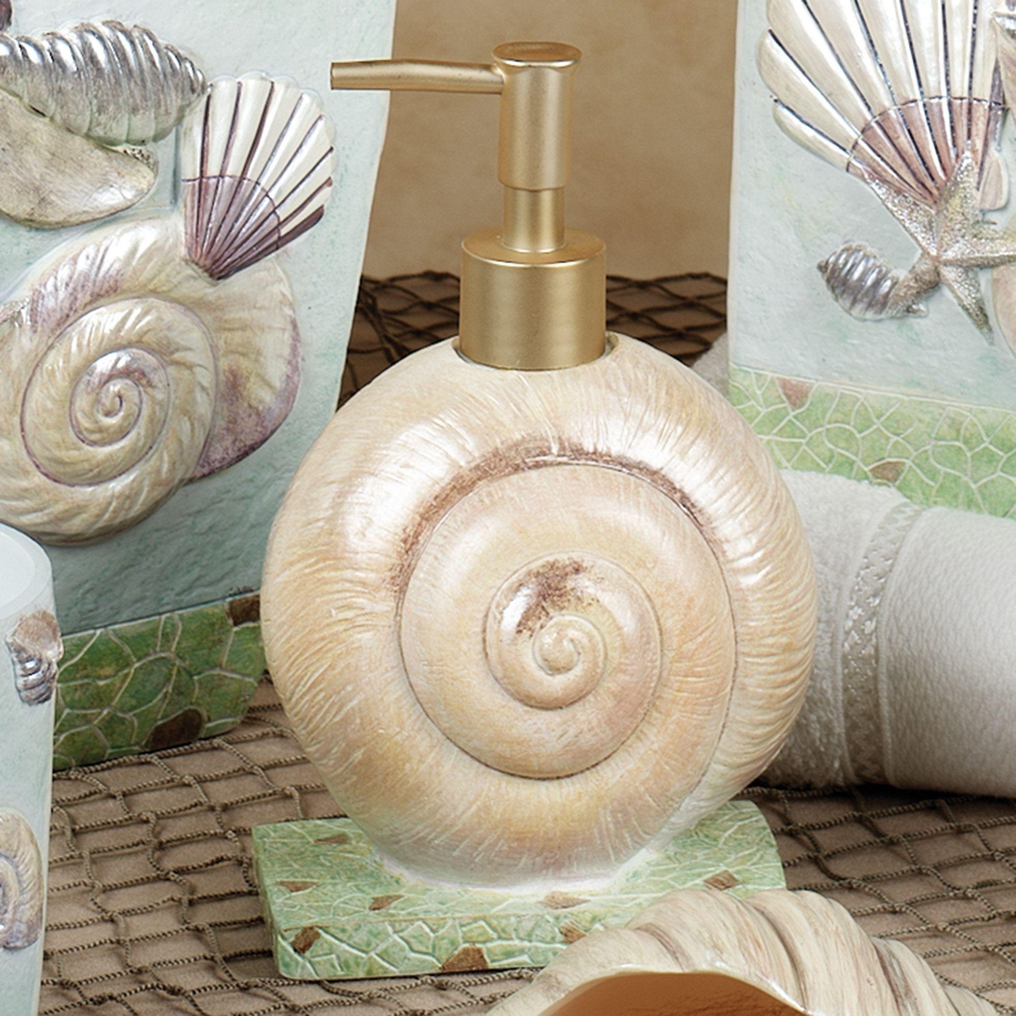 Spa Shells Lotion Soap Dispenser Multi Cool