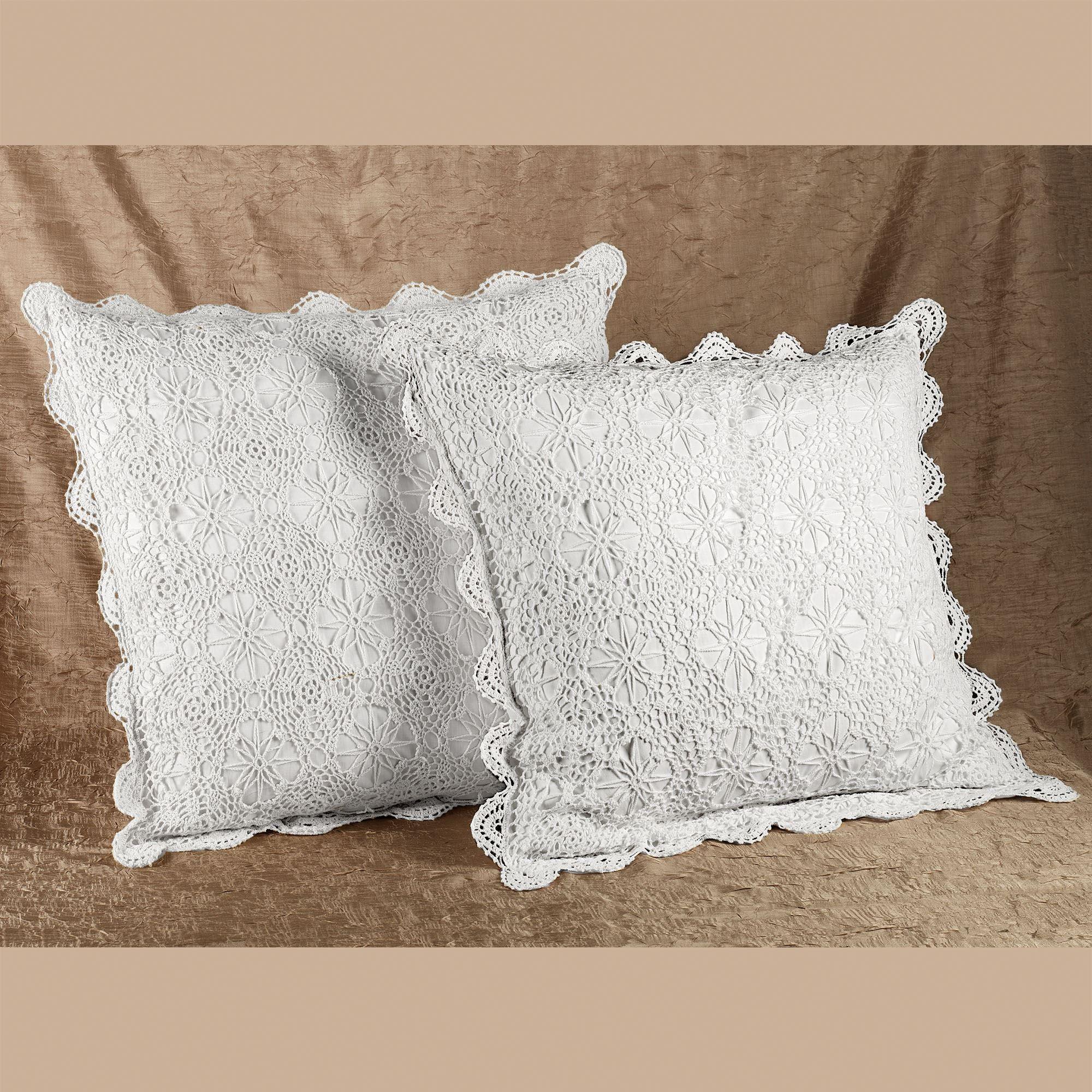 Crochet Bedskirts And Shams