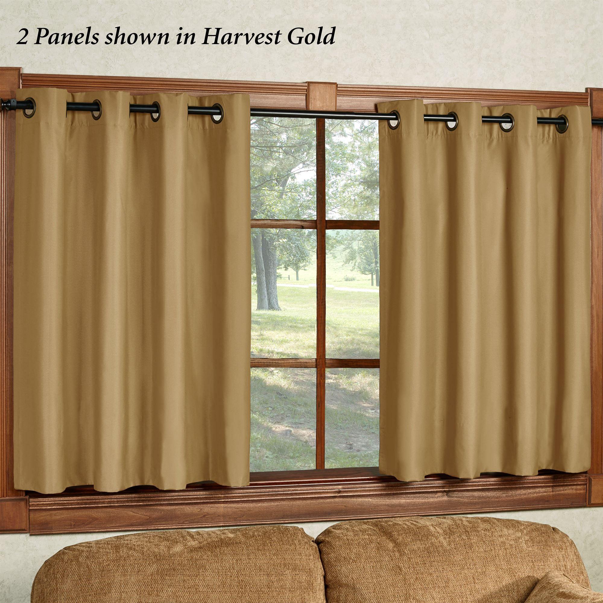 Paramount Short Thermal Grommet Curtain Panel