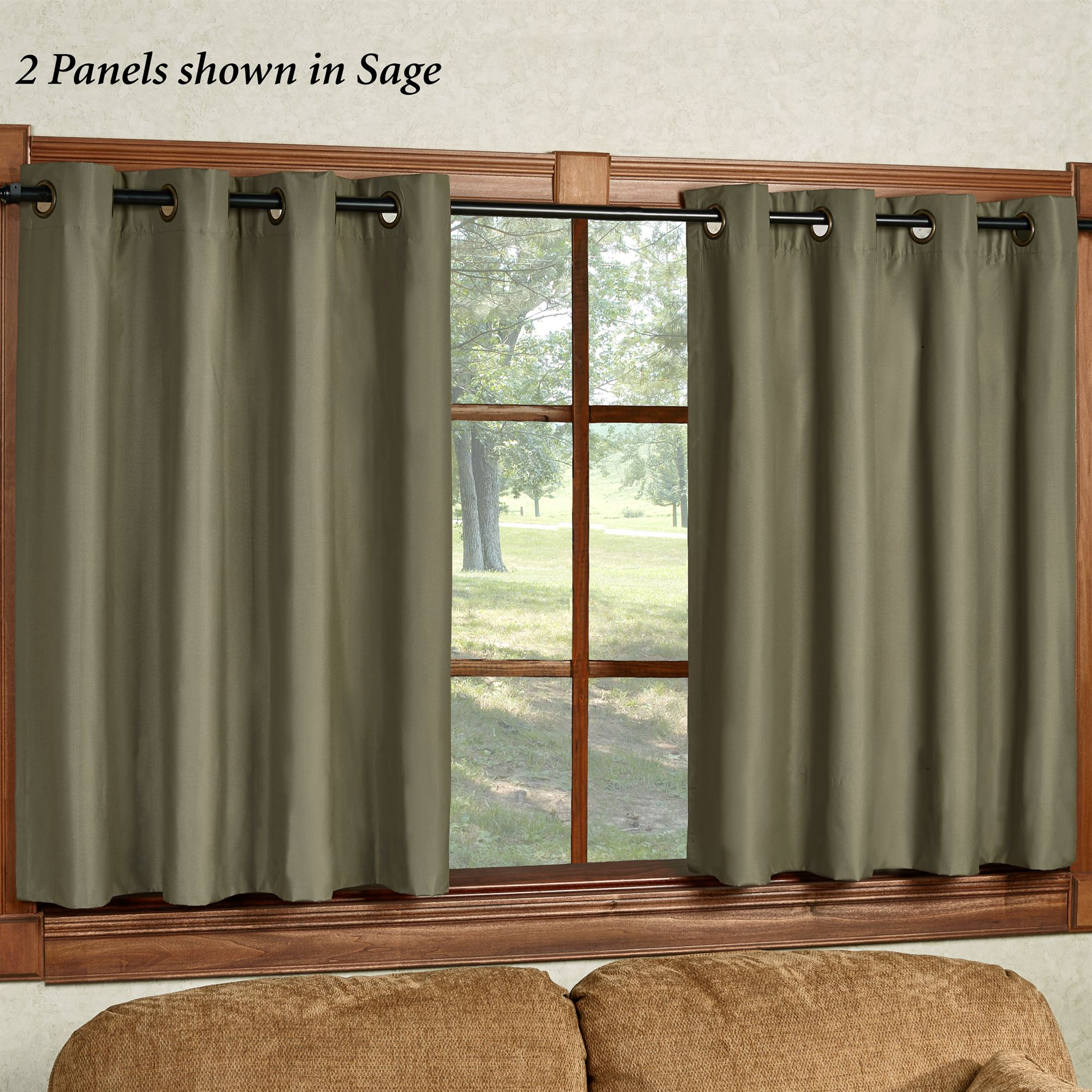 Paramount Short Thermal Grommet Curtain Panel