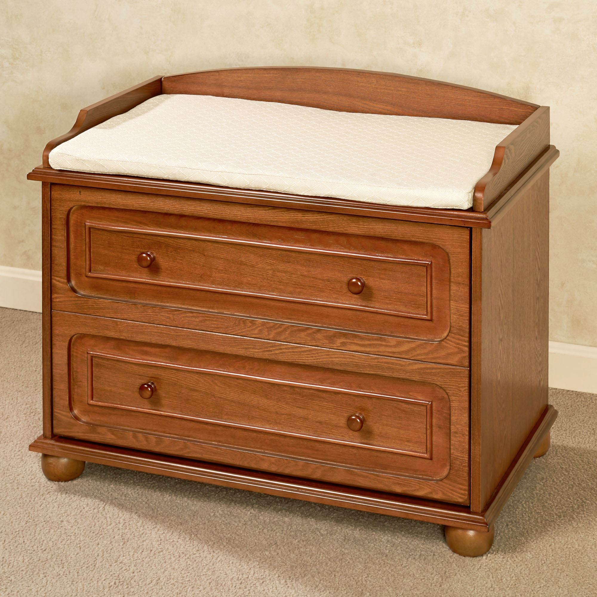 Ayden Wooden Shoe Storage Bench Windsor Oak
