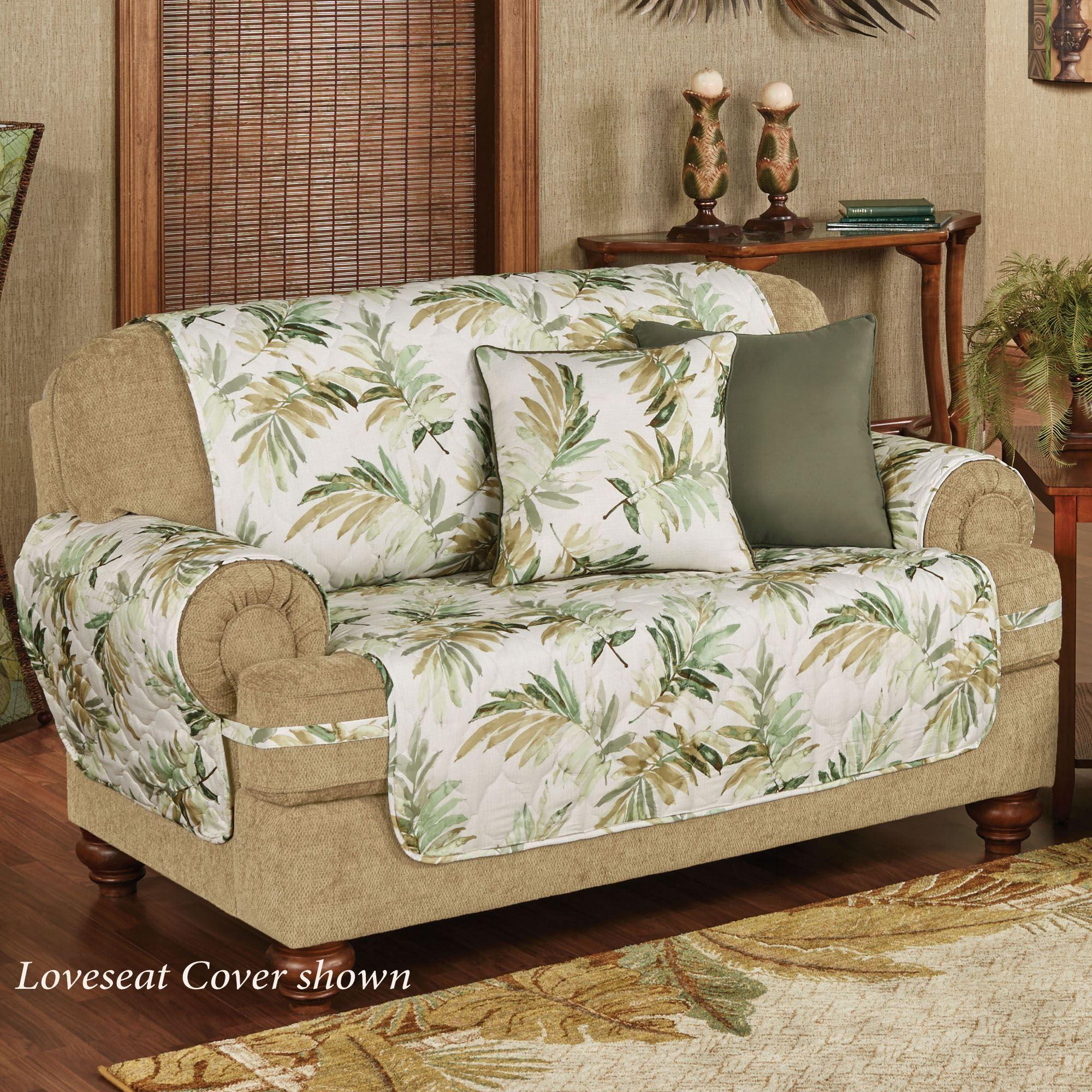 Tropical Print Sofa Slipcovers Sofa The Honoroak