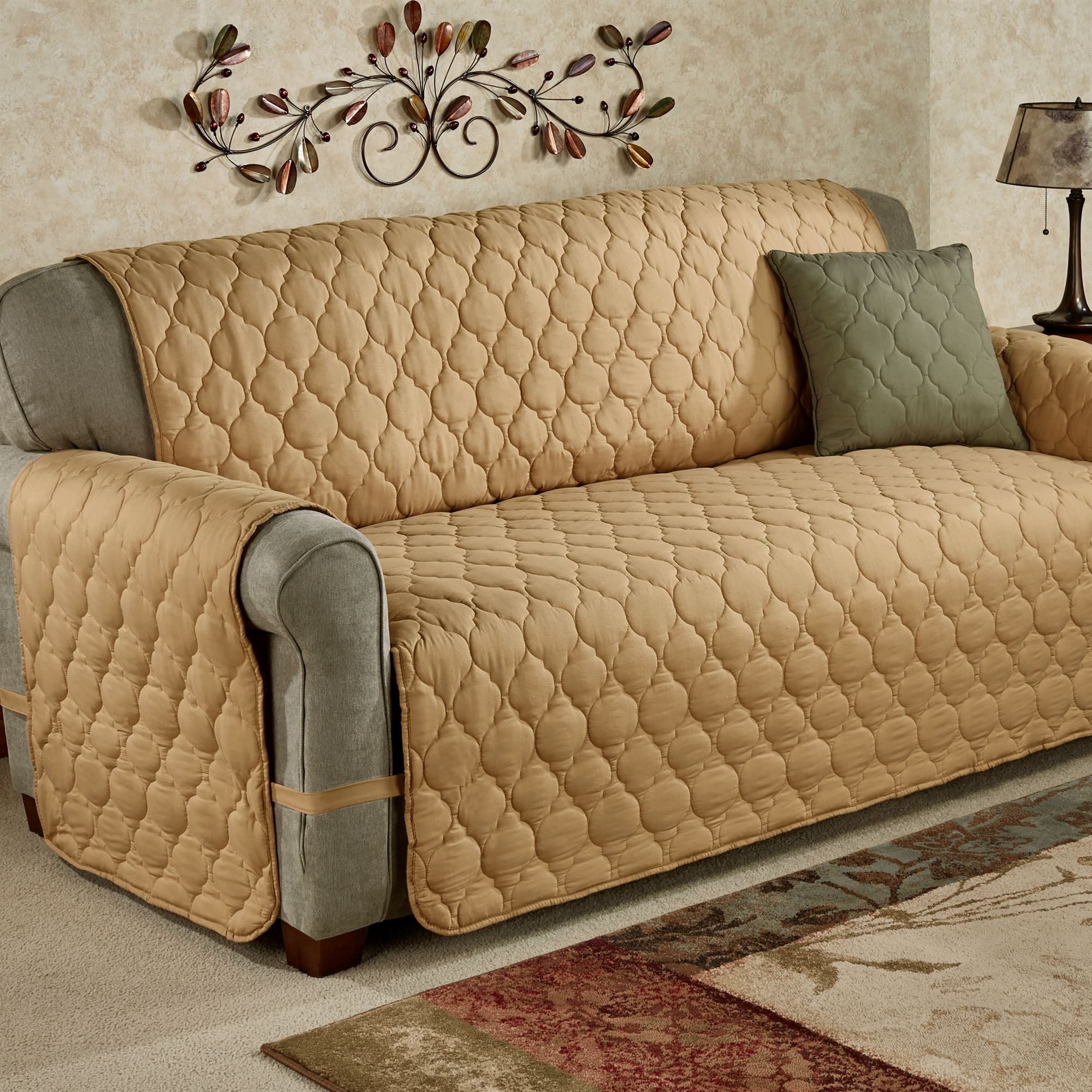 Admirable Paramount Solid Color Quilted Furniture Protectors Machost Co Dining Chair Design Ideas Machostcouk