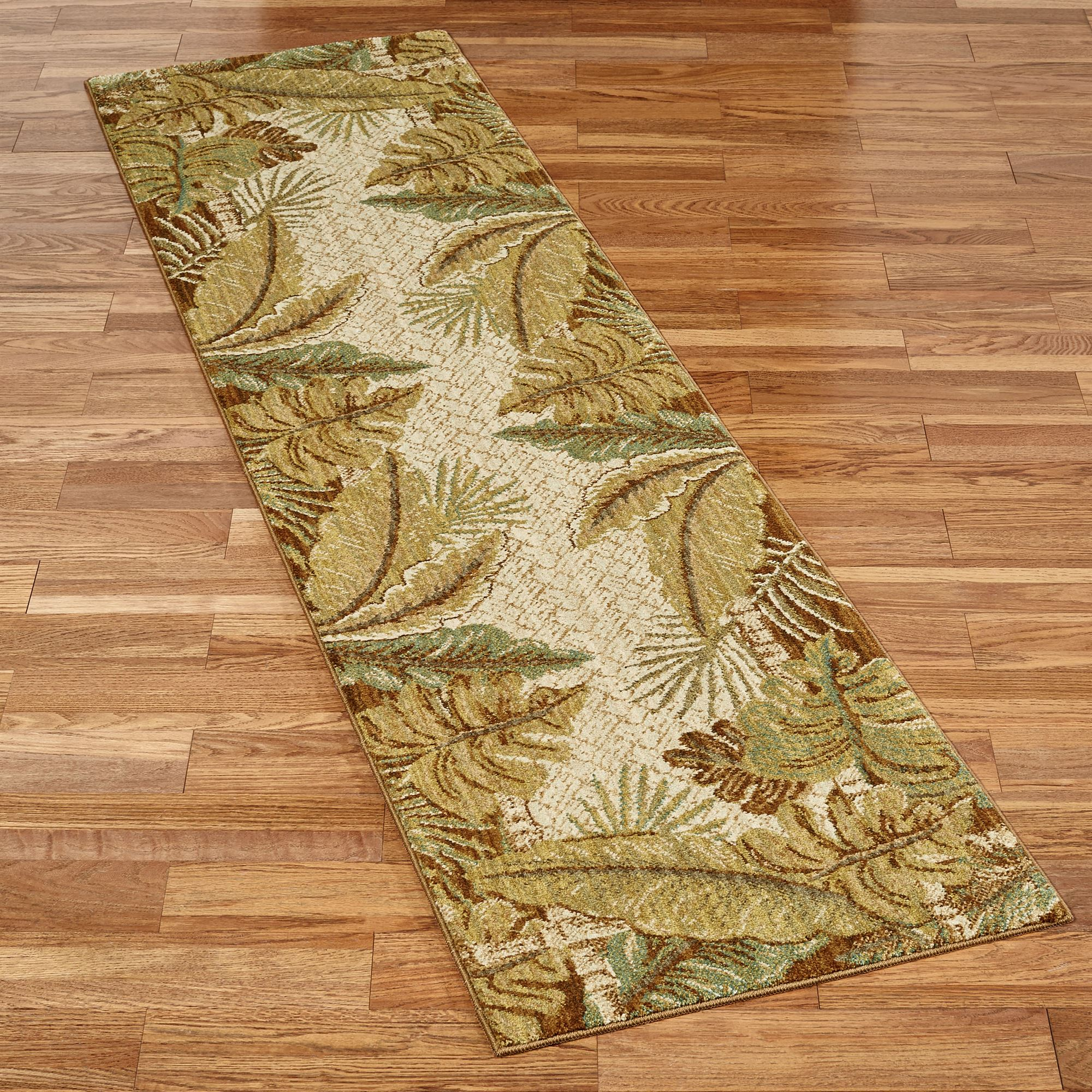 Paradise Cove Stain Resistant Tropical Area Rugs