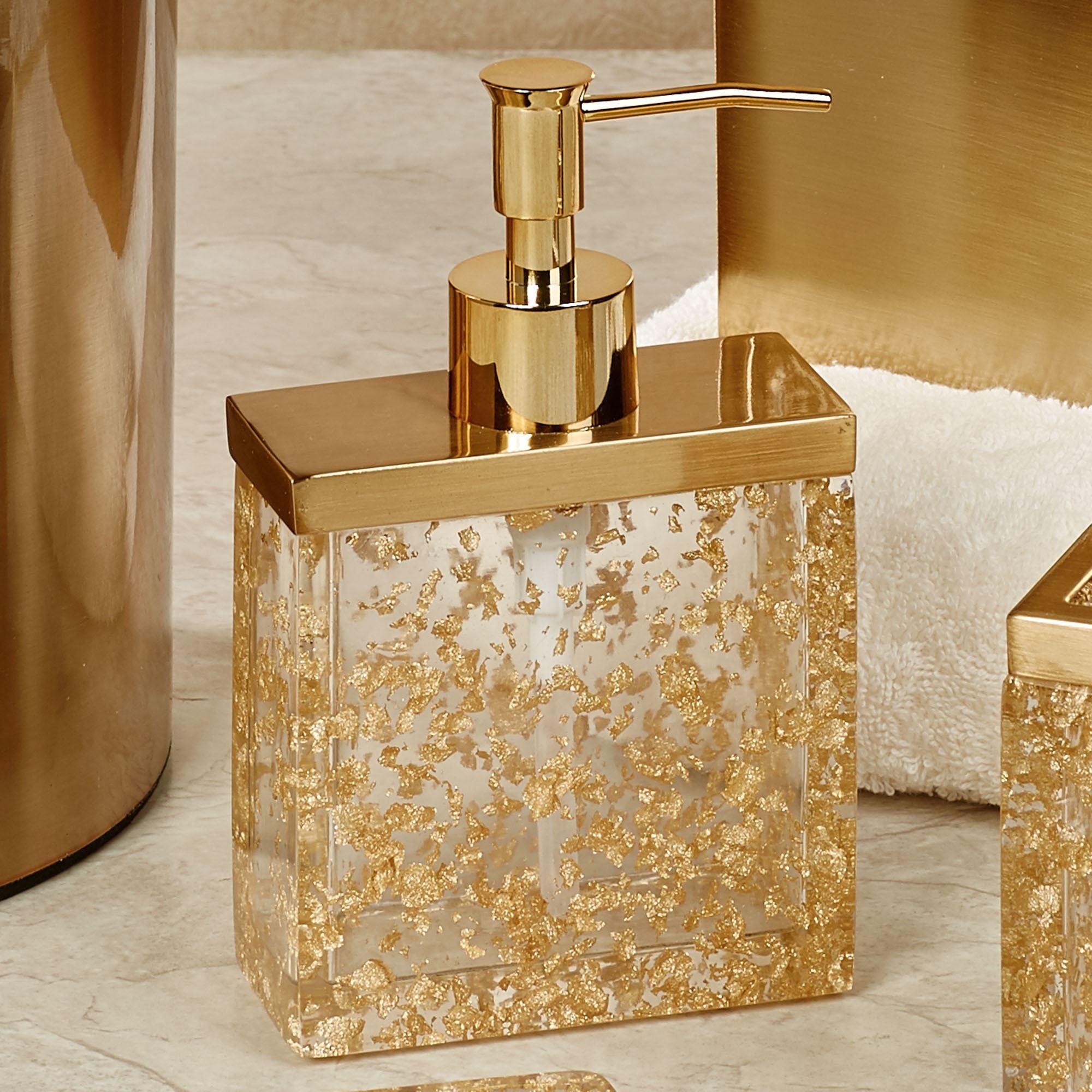 Enlighten Gold Foil Bath Accessories
