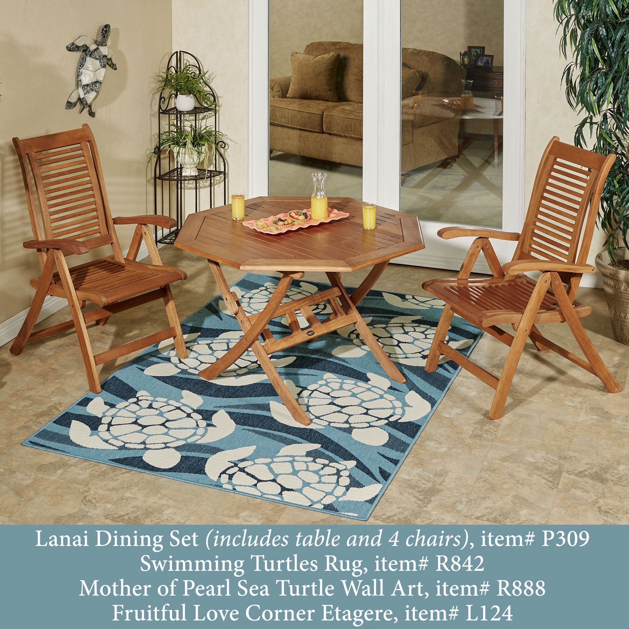 Lanai Wood Patio Furniture