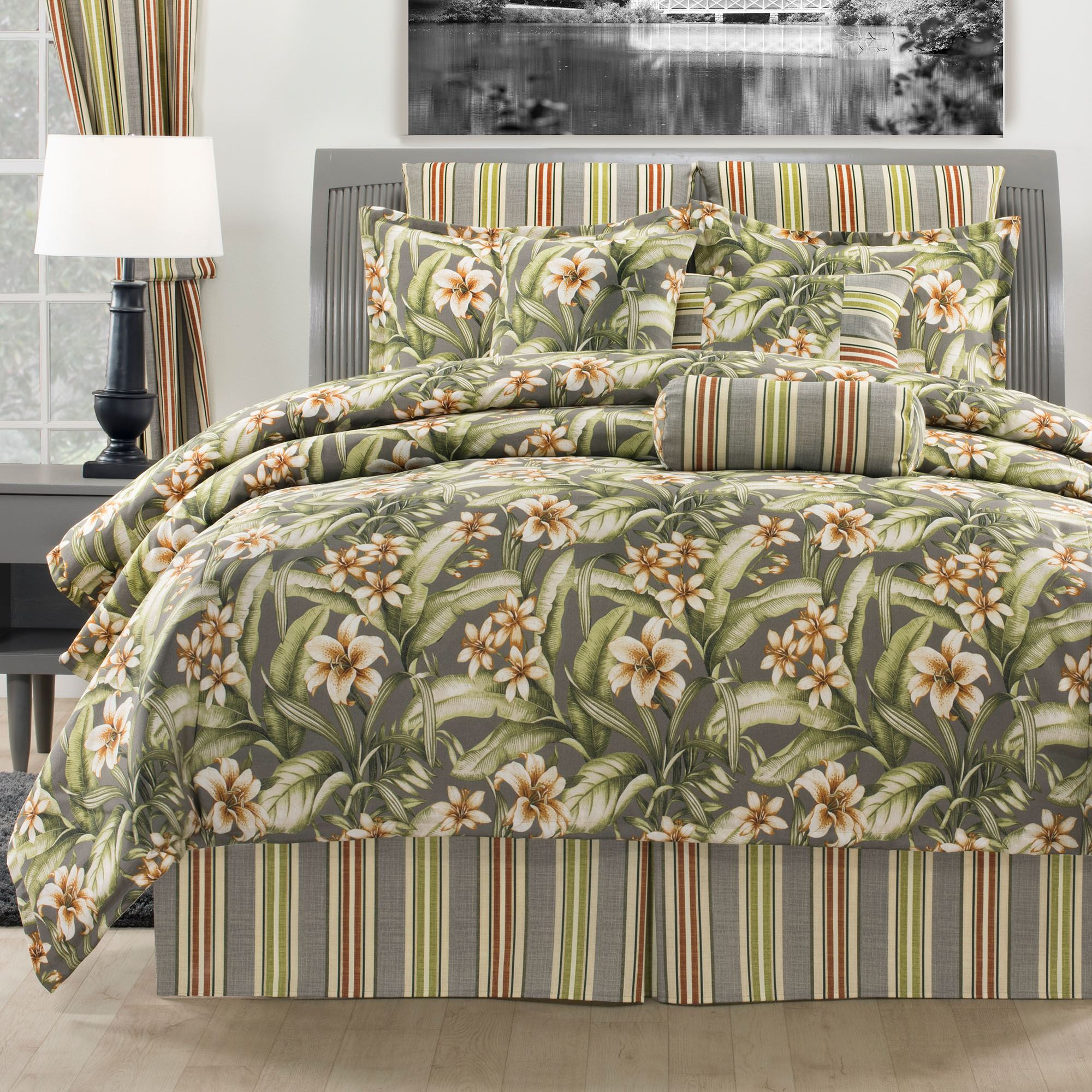 Tropical Lily Comforter Bedding