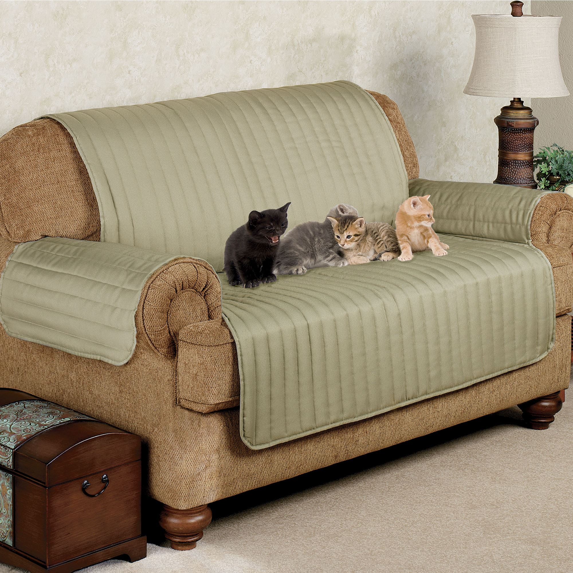 Best Sofa Upholstery For Pets: Twill Pet Furniture Cover