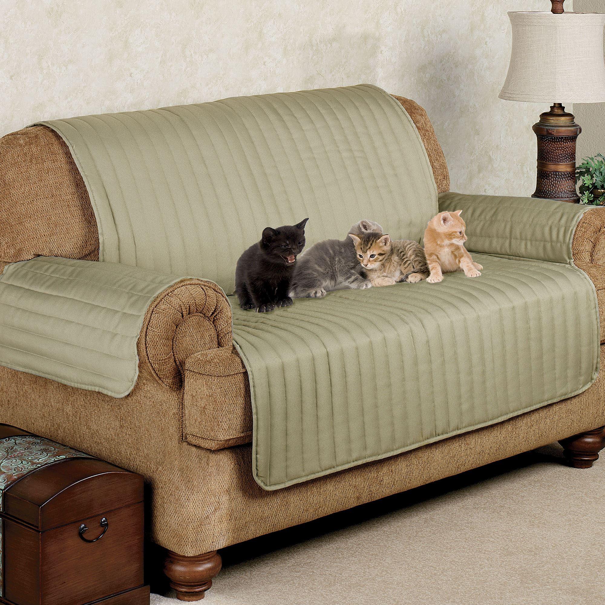 Twill Loveseat Pet Furniture Cover