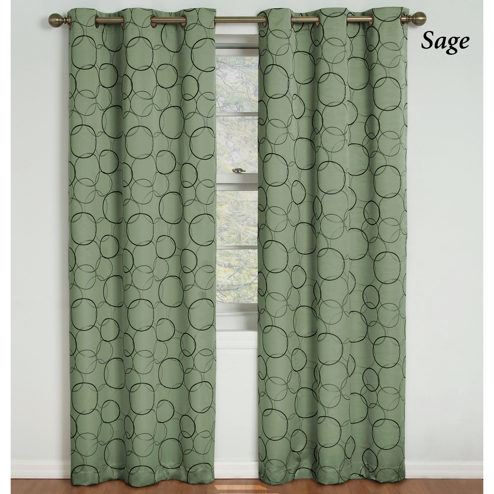 pin thermal pair blackout layla lace efficient grommet curtains overlay panel energy curtain