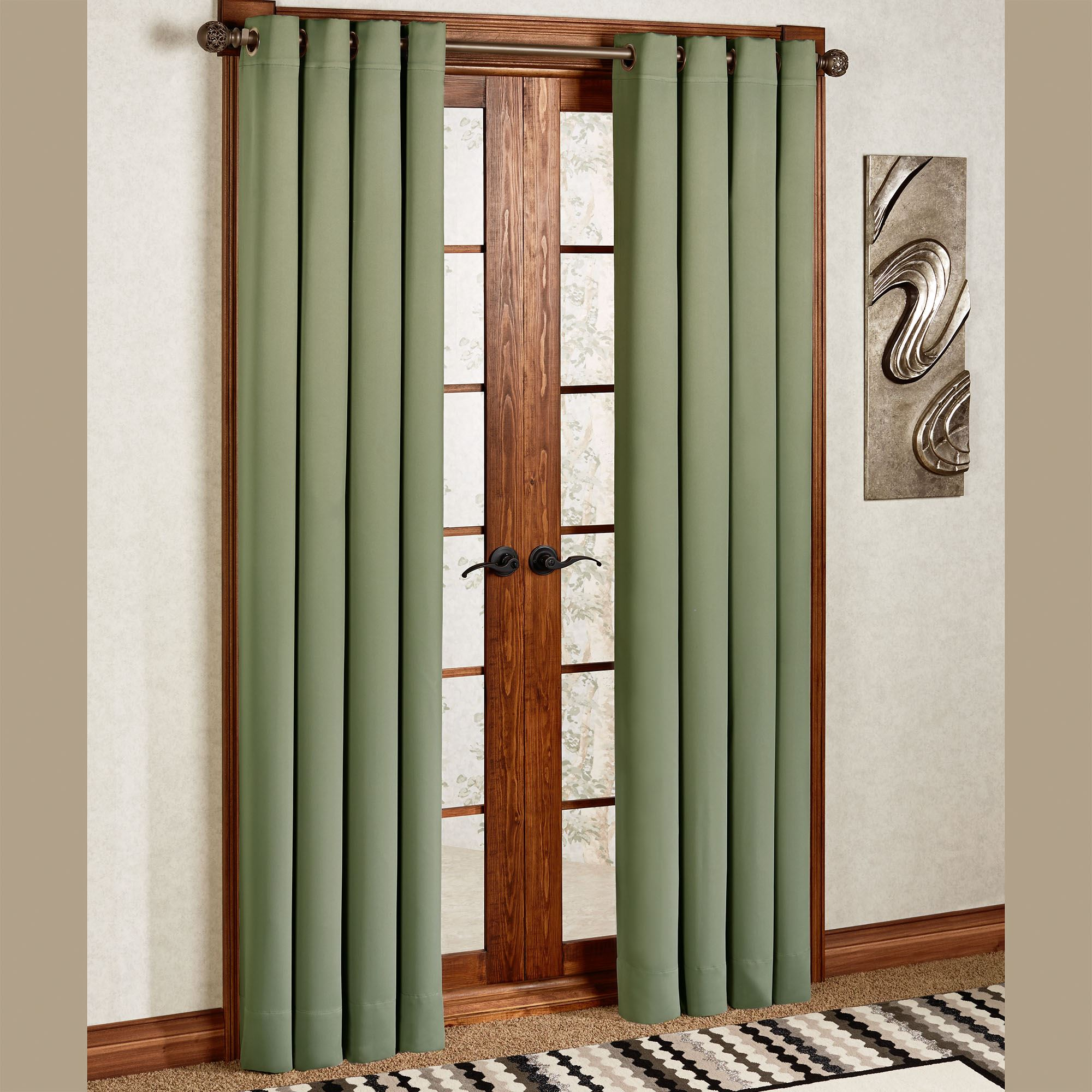 Ultimate Blackout Grommet Curtain Panel