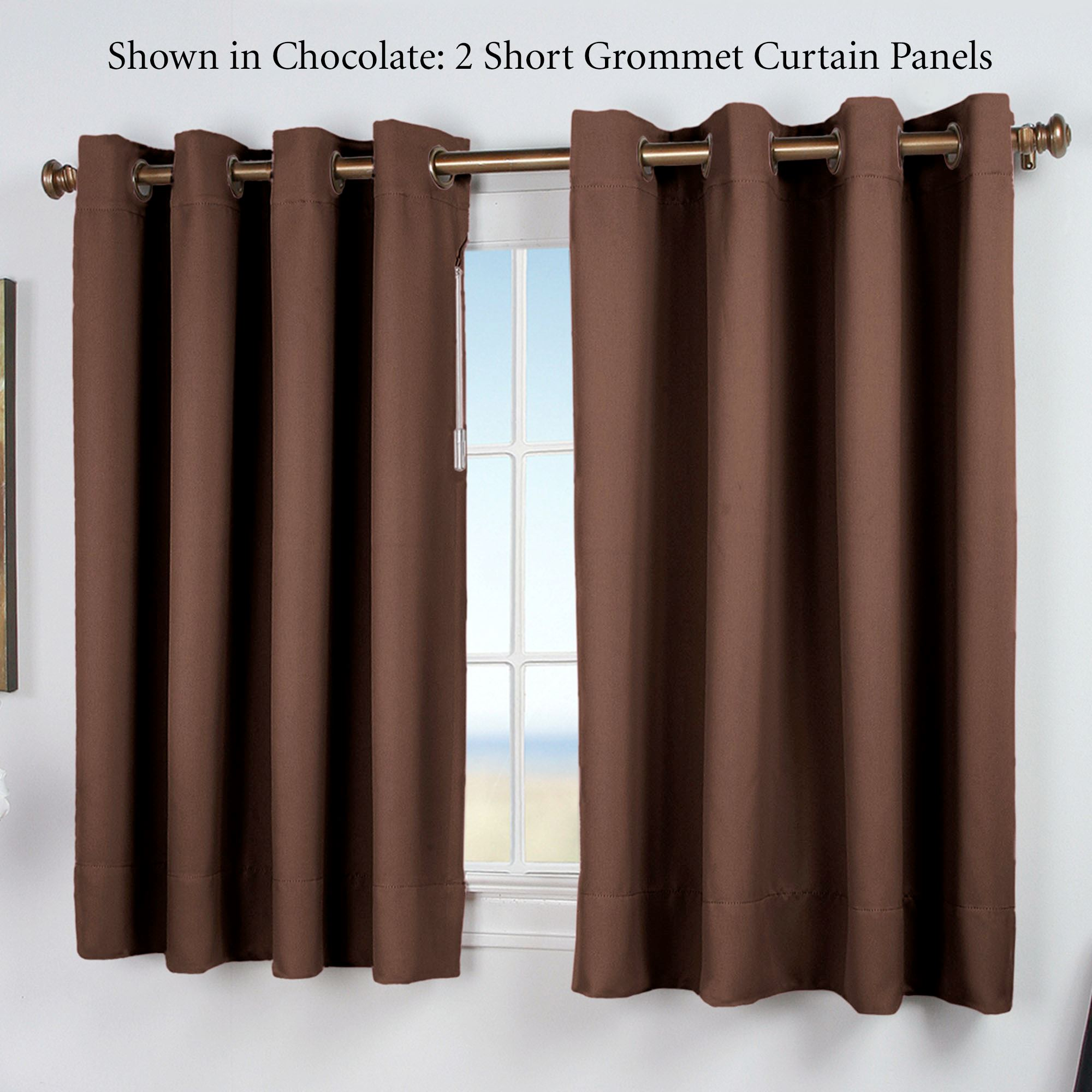 embroidered with drapes bedding cheap brown window best sale chocolate style panel curtains coffee blue and serene ease