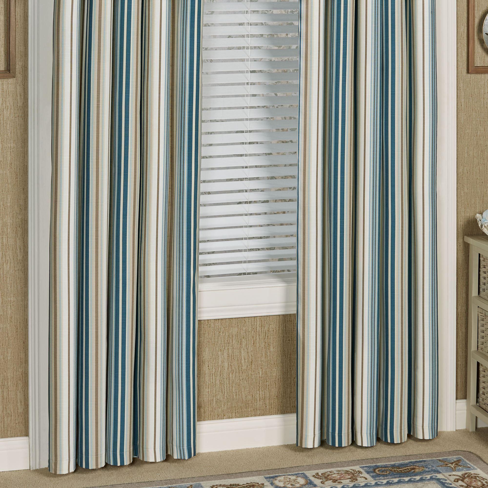 savannah stripe coastal window treatment savannah stripe coastal window treatment