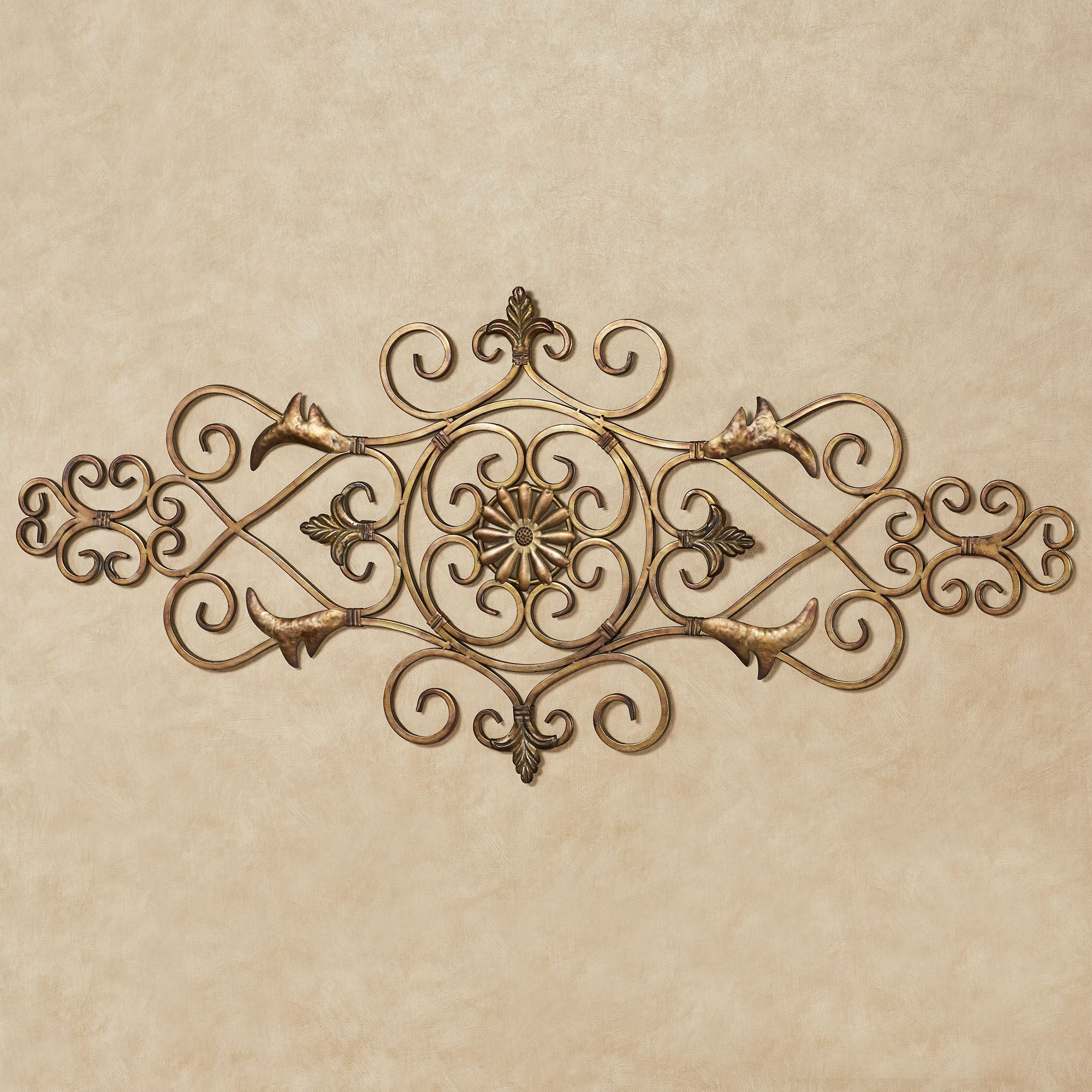Metal Wall Medallion Amusing Wall Grilles  Touch Of Class Design Decoration