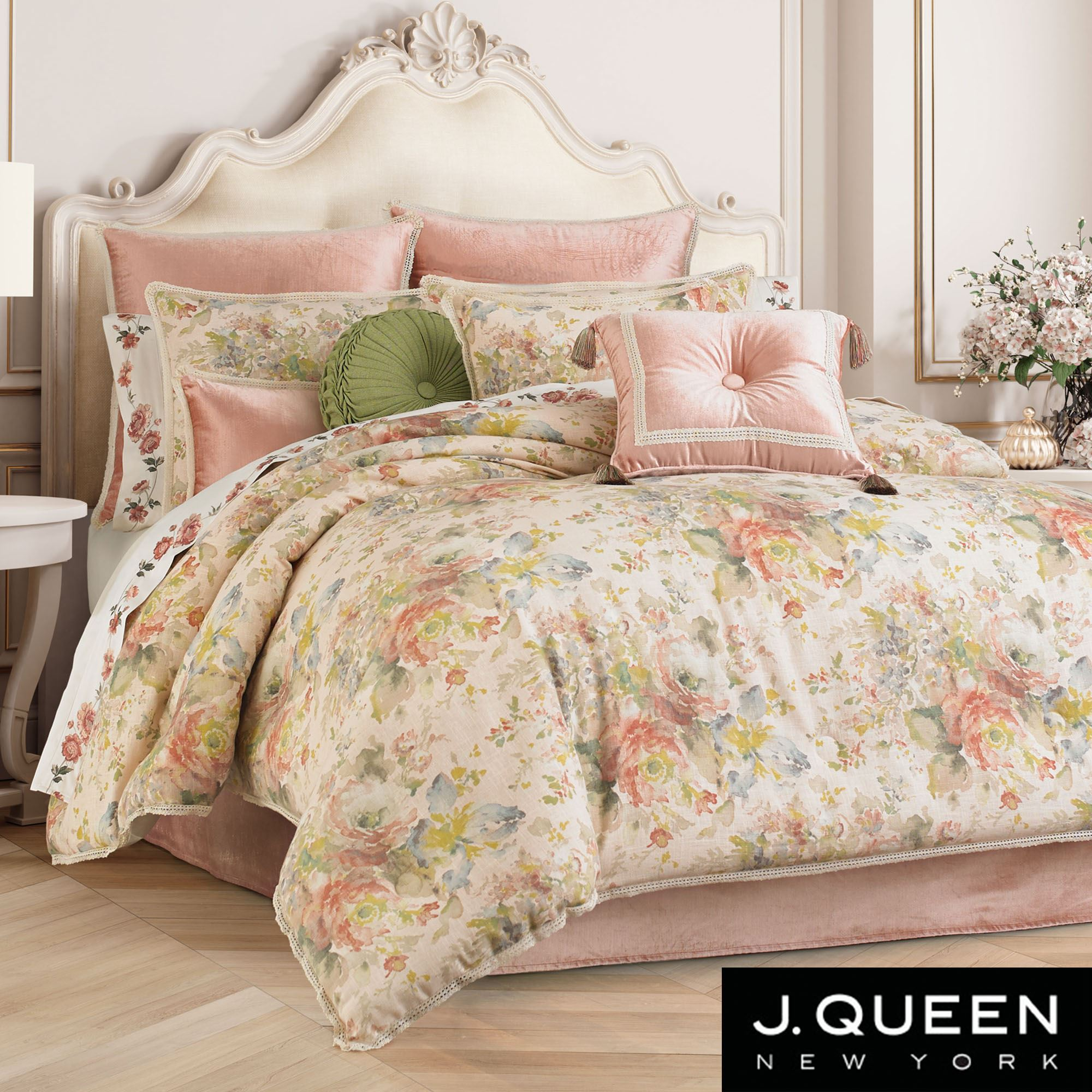 Floral Park Comforter Bedding By J Queen New York