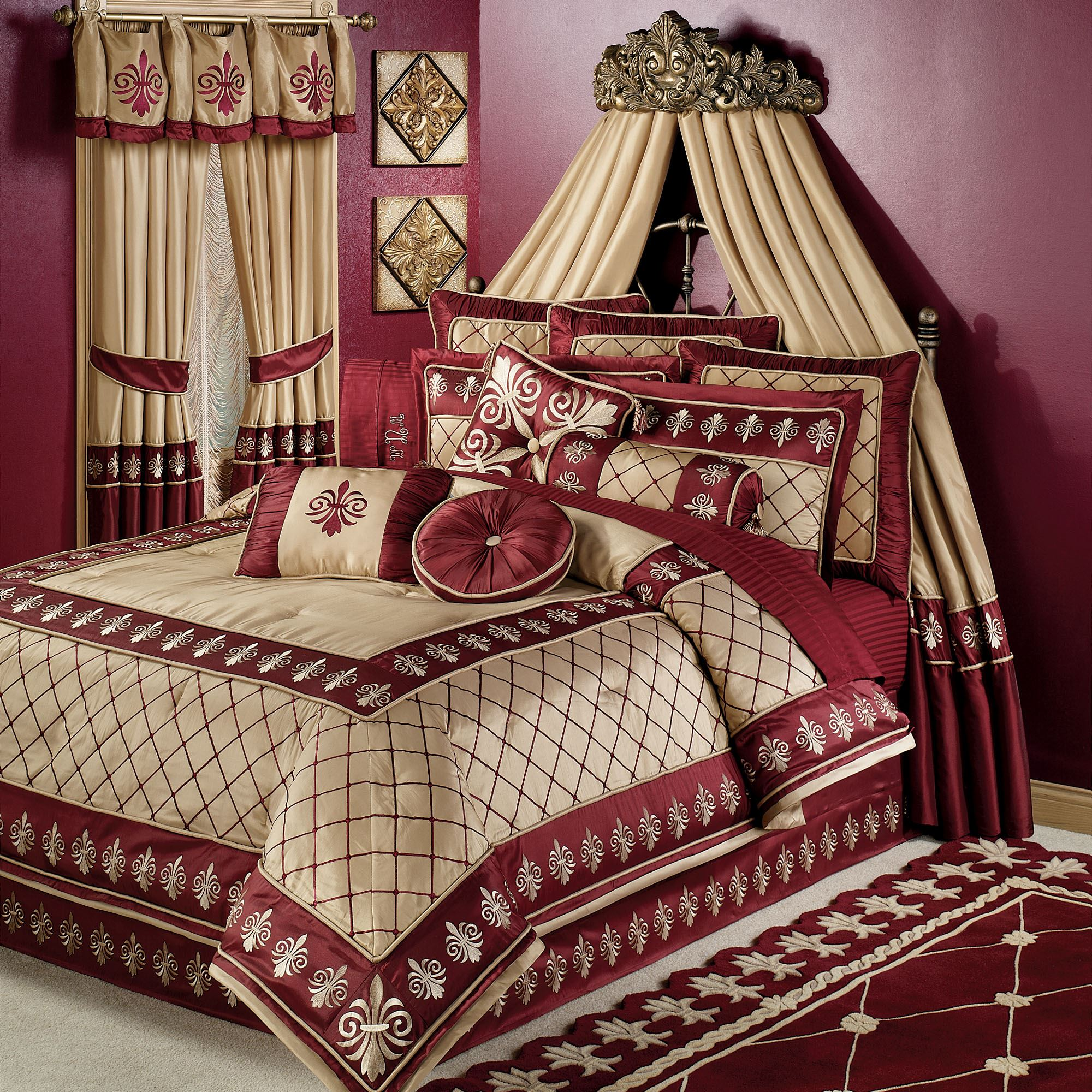 Interior Bedroom Bedding comforters and comforter sets touch of class roman empire set