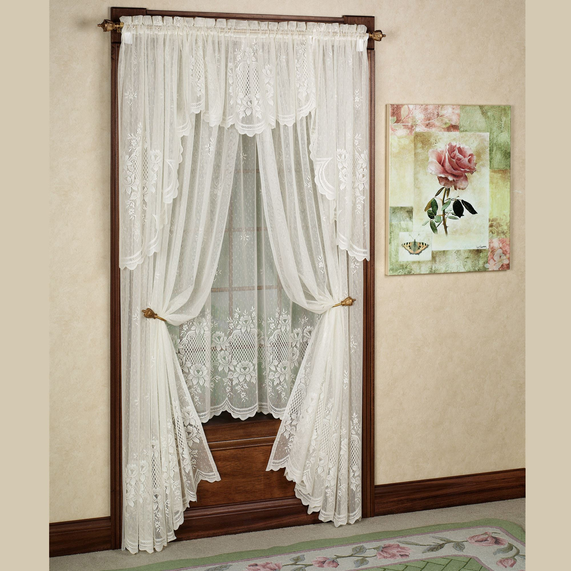 treatments lace sale valance window beautiful living discount room for ideas valances windows