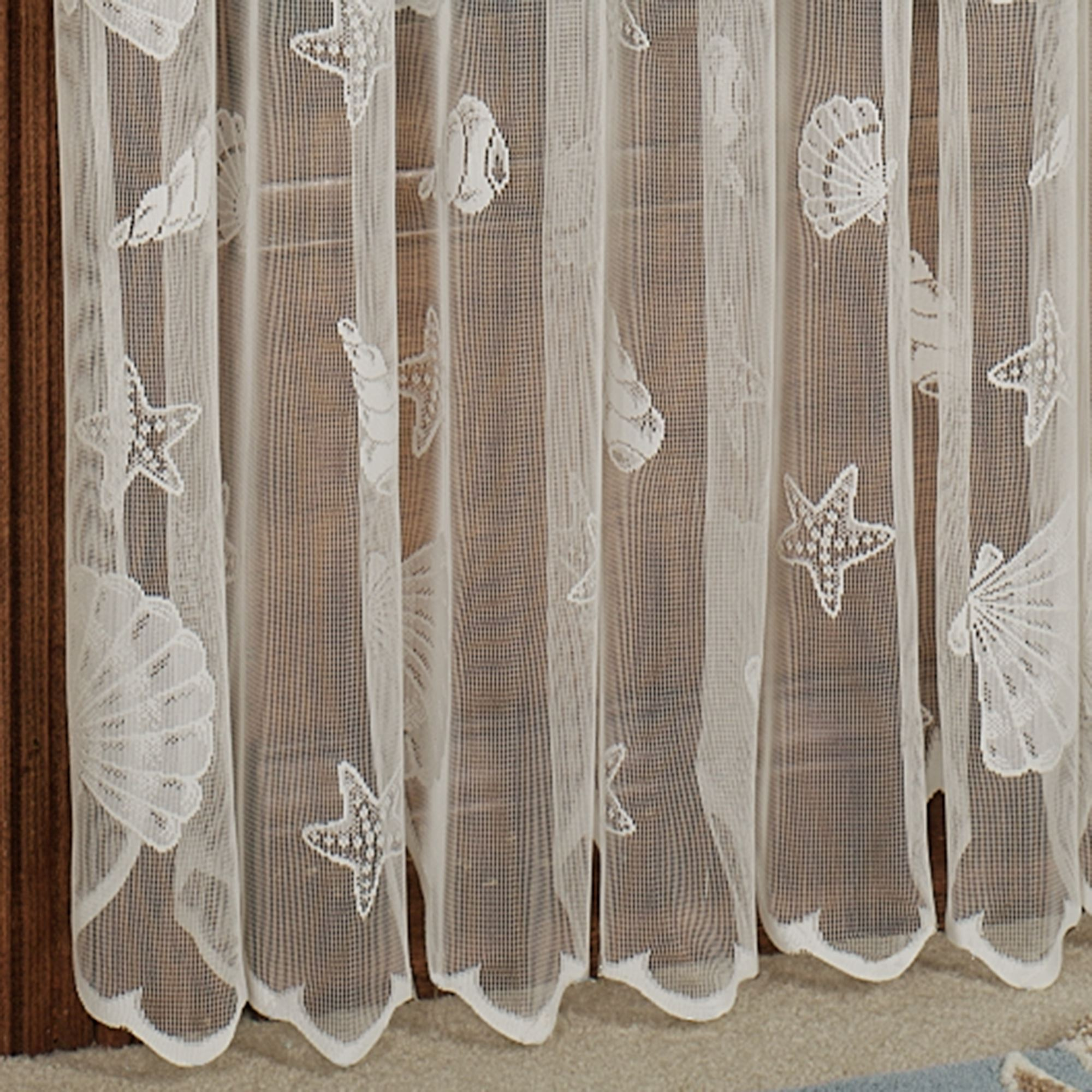 curtains earthbound x rods shell rod door white for curtain capiz size