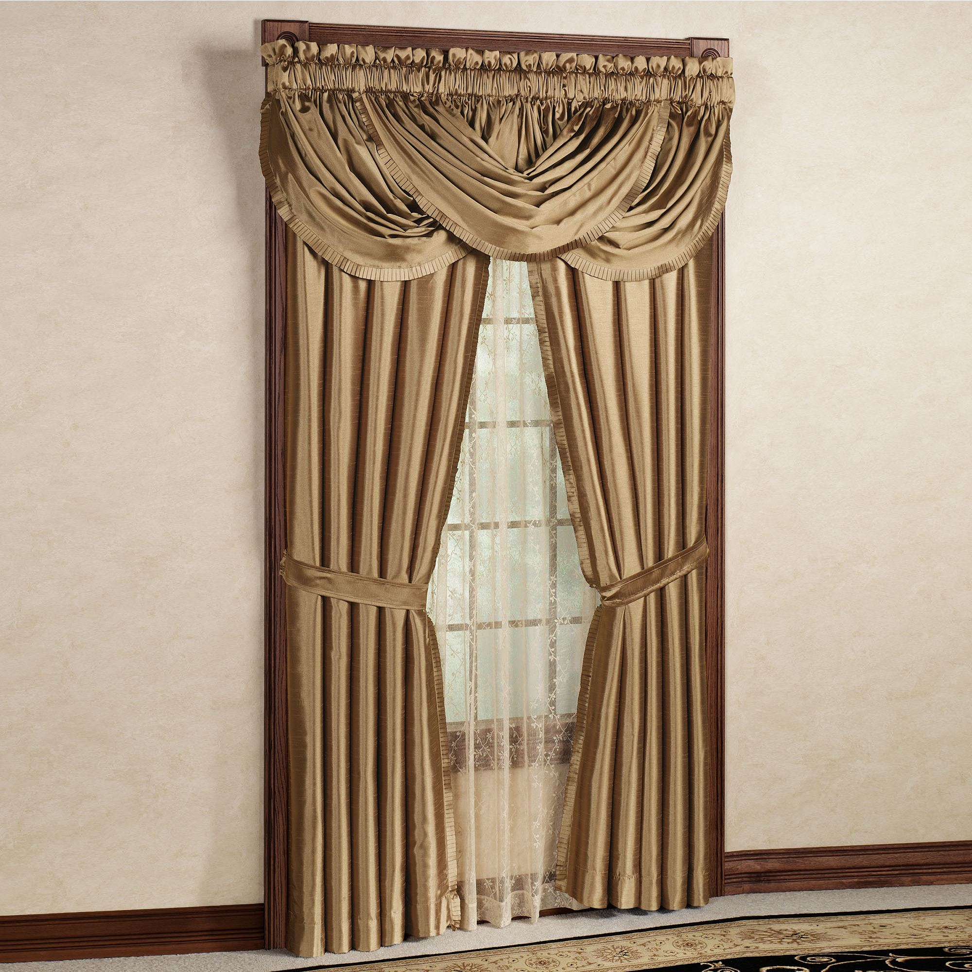 Play Video Versailles Tailored Curtain Panel