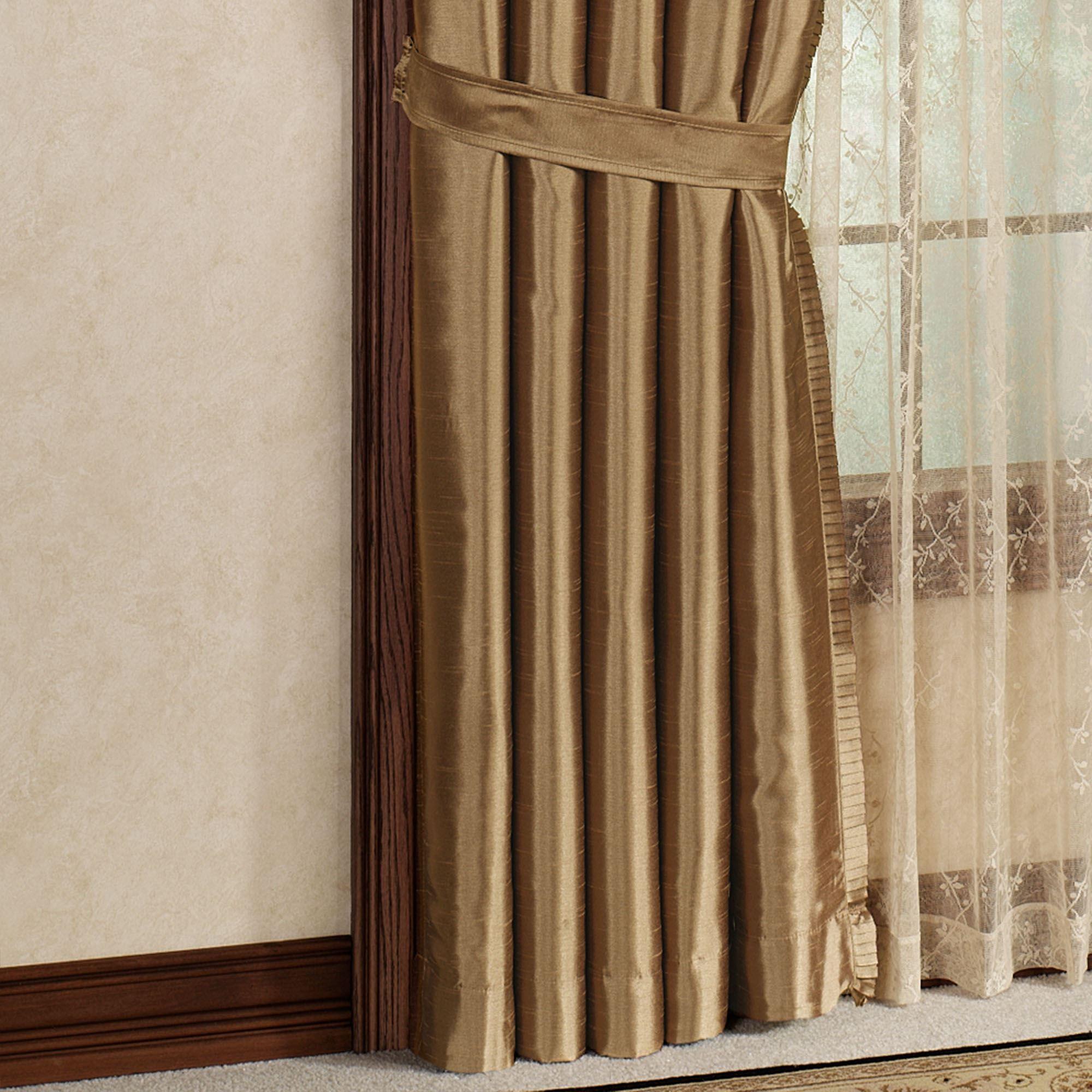 Versailles Slub Satin Window Treatment