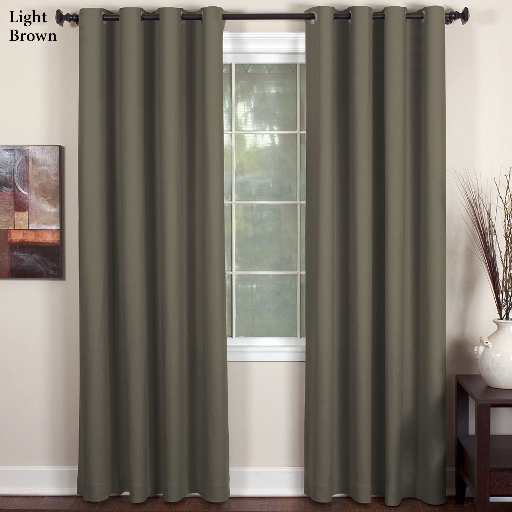 brown window curtains light brown essex grommet tailored panel curtain panels