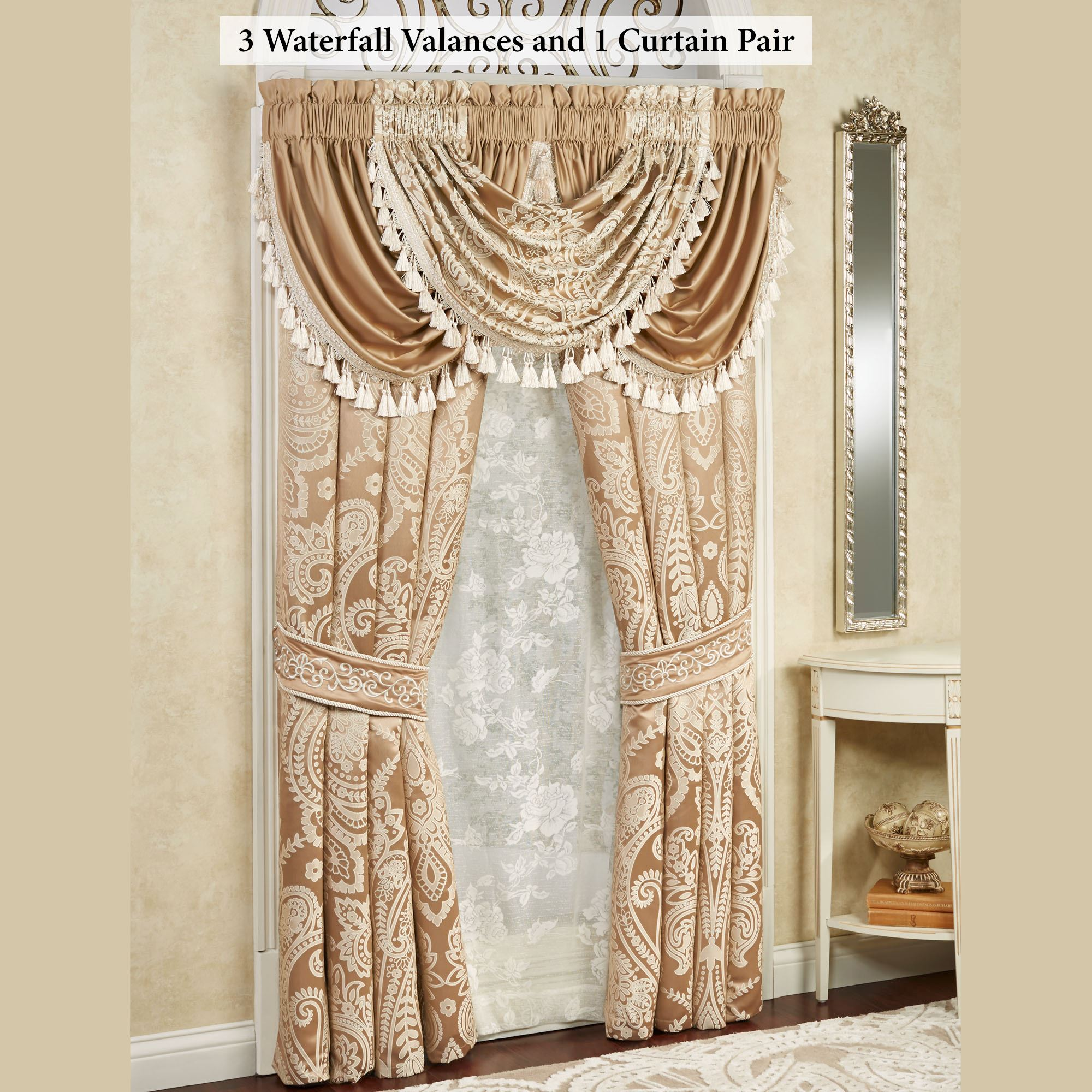treatments valance waterfall curtain pdx wayfair reviews elements valances dorothy window