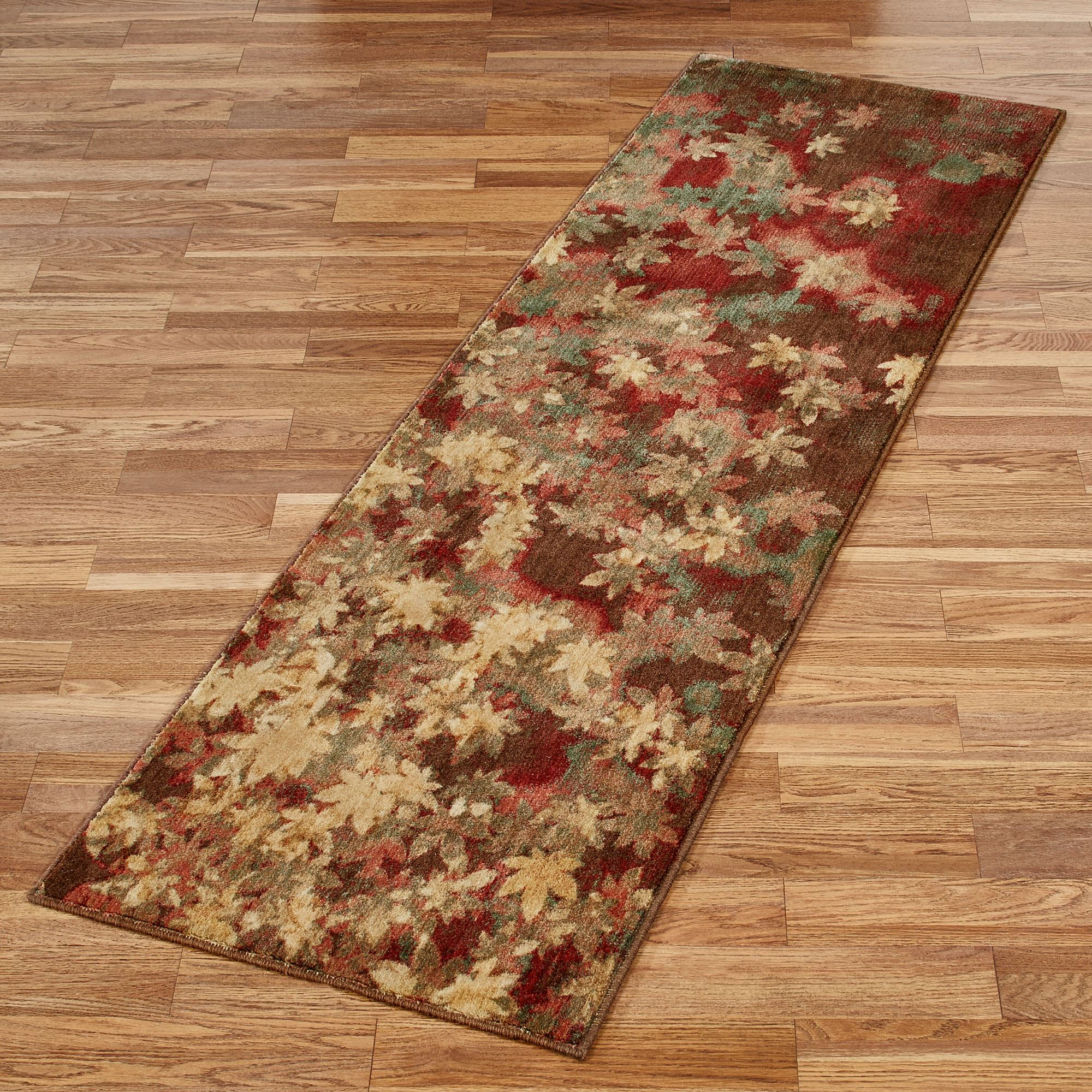 Unique Riverpark Autumn Leaf Area Rugs OX16