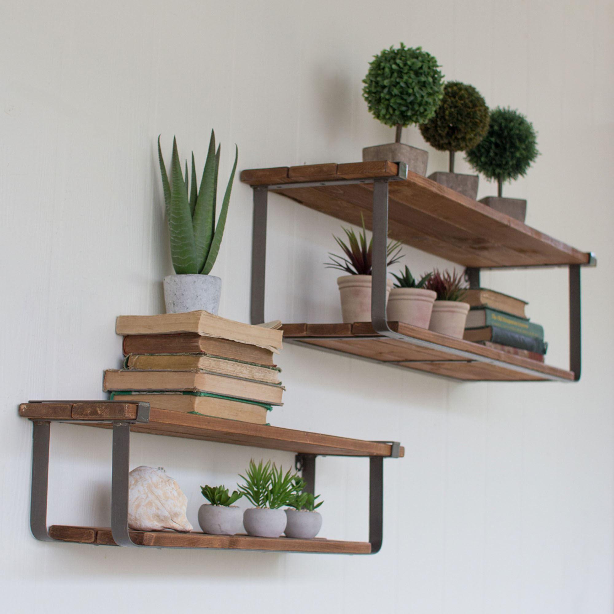 Urban Floating Wall Shelf Set