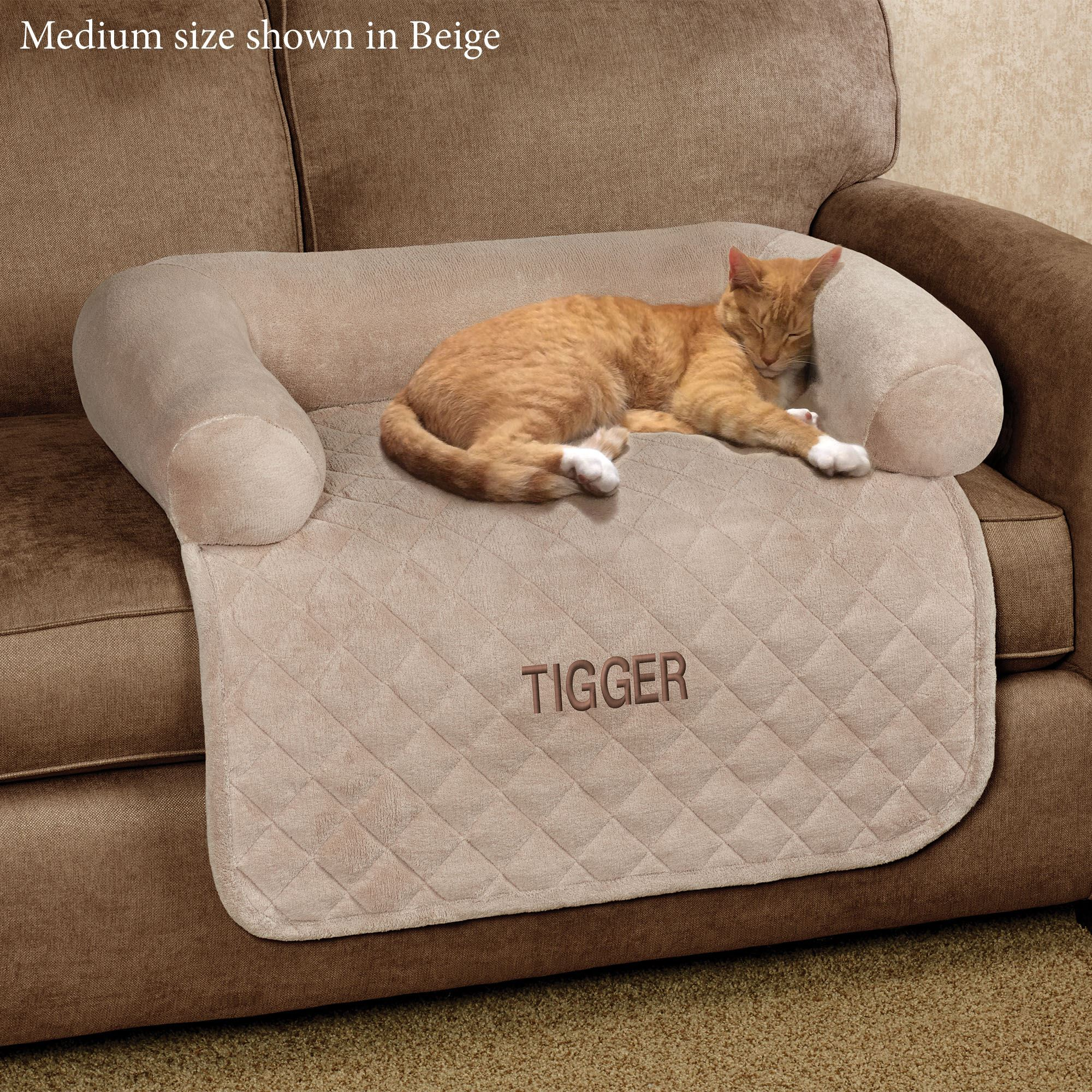 Ultimate Microplush Quilted Pet Cover With Bolster