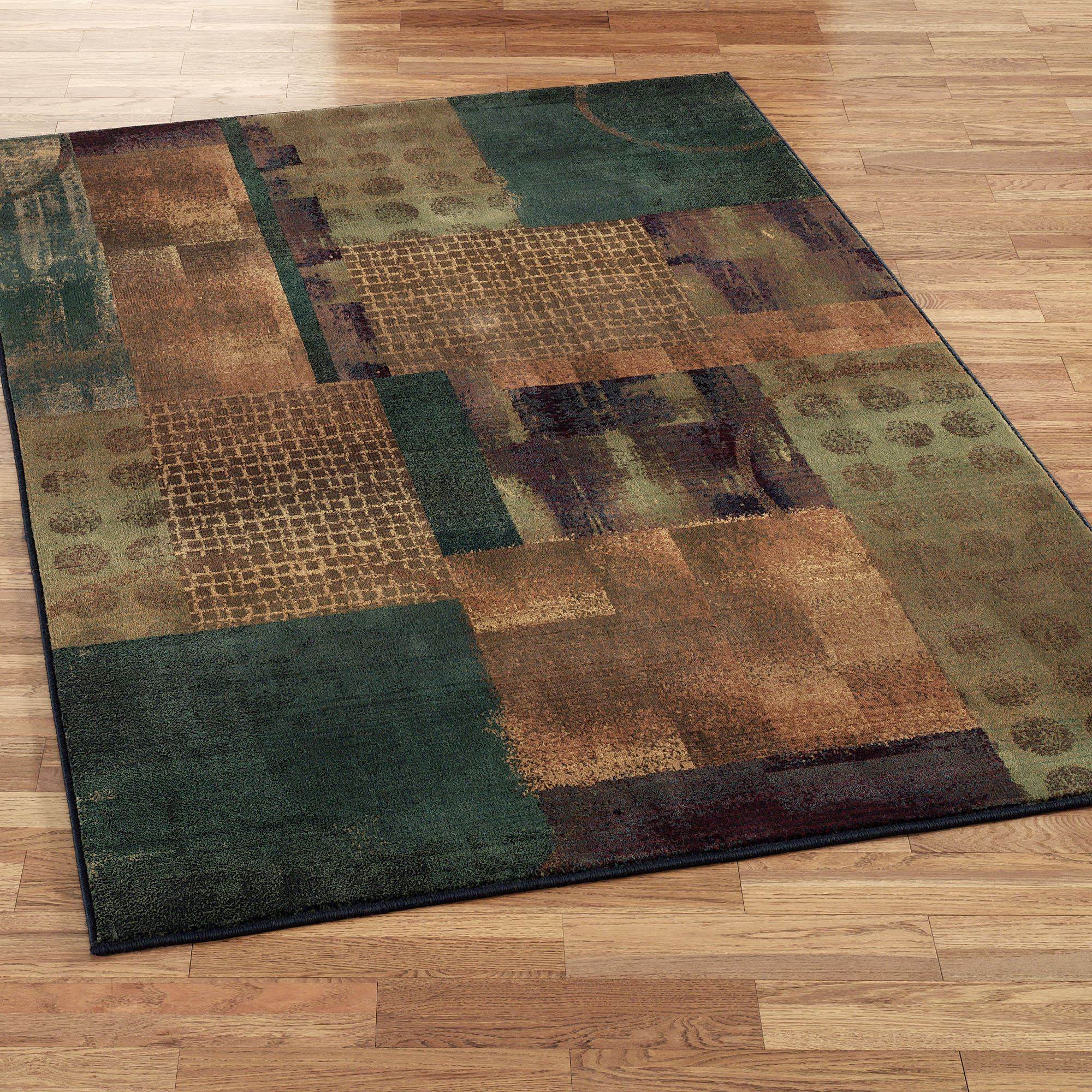 Contempo Block Area Rugs