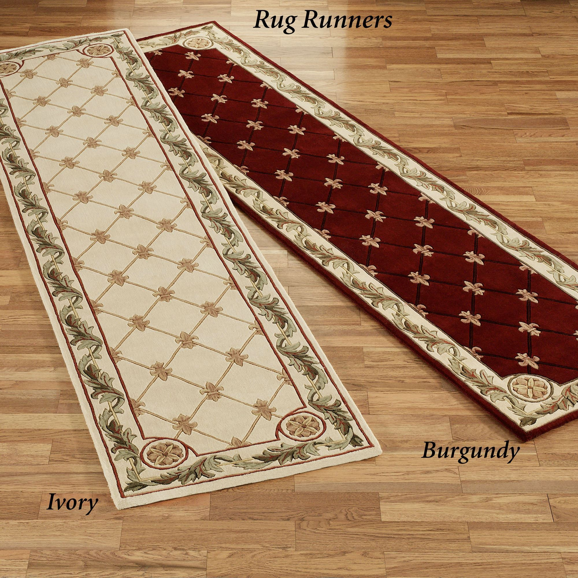 Jewel Fleur De Lis Rectangle Rug