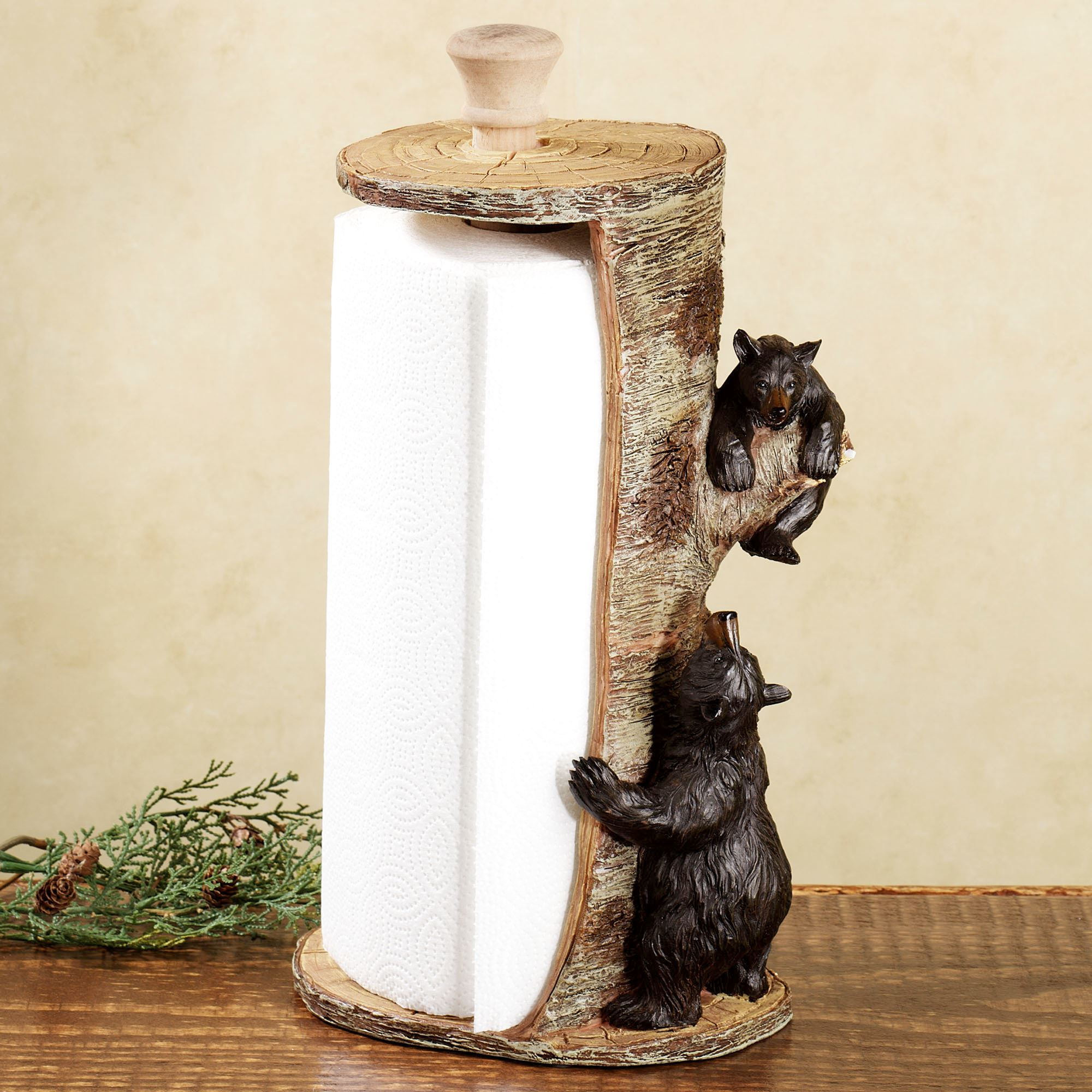 Woodland Bears Paper Towel Holder