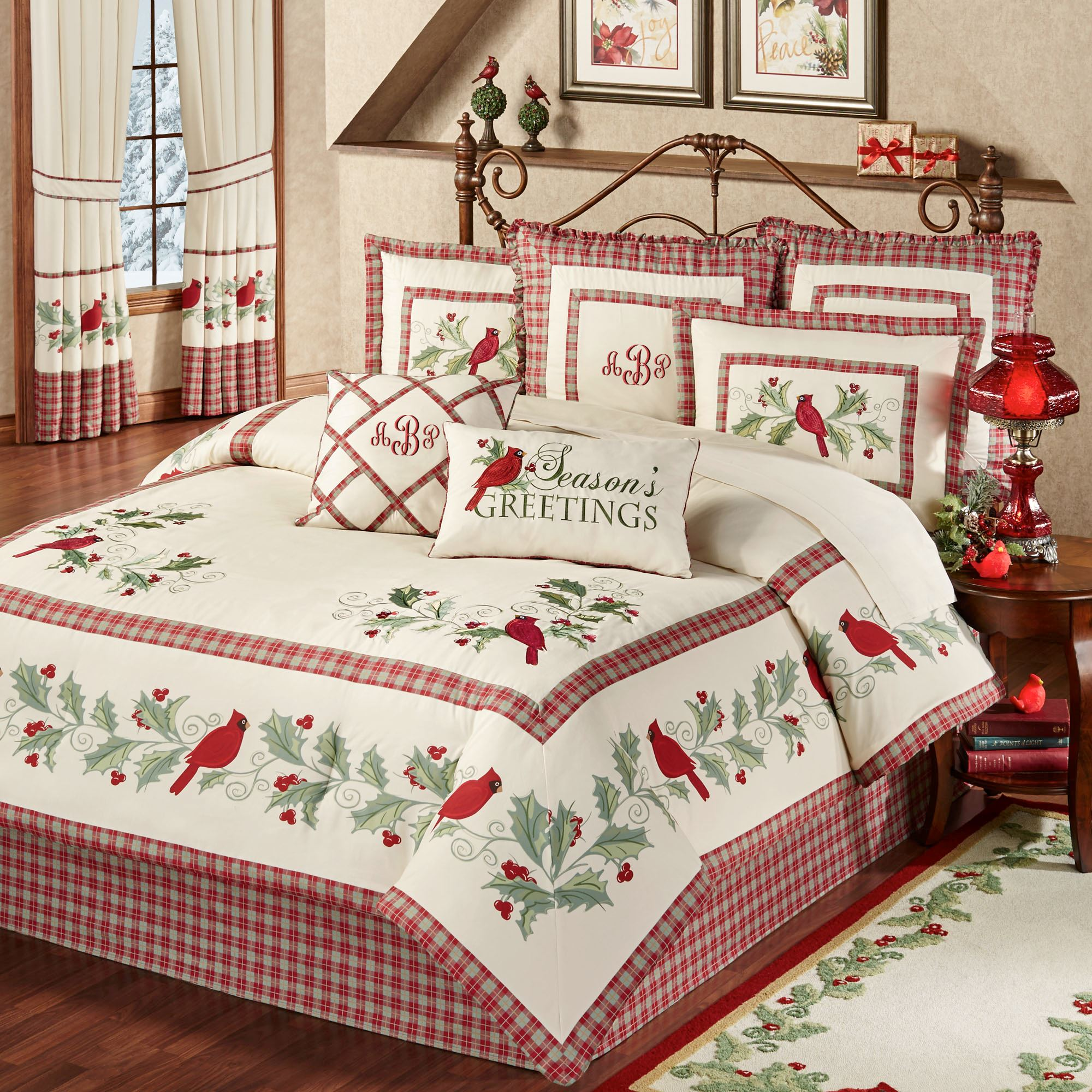 Best Comforter Images Of Christmas Bedspreads And Quilts Christmas Tree