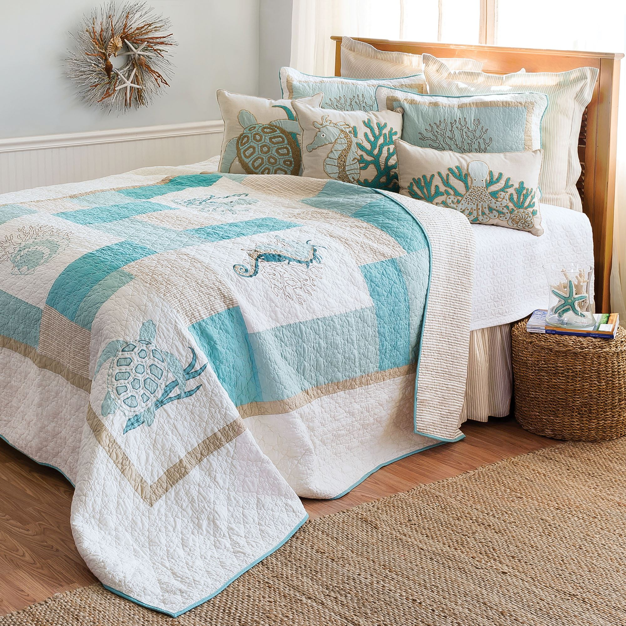 f c blue quilt eliza products king q twin shame collections quilts spring